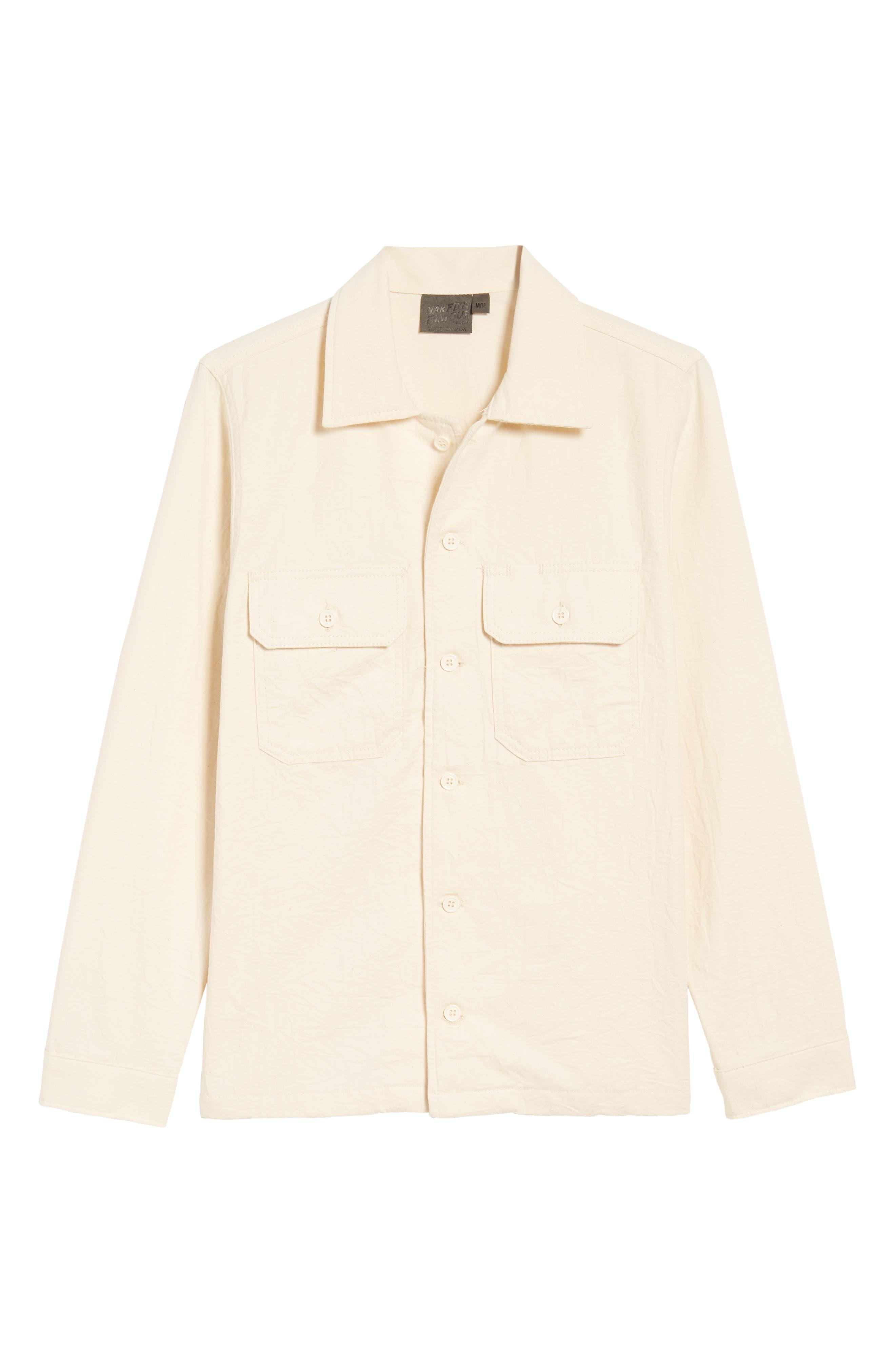 Work Shirt,                             Alternate thumbnail 7, color,                             White