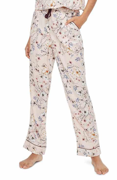Topshop Sketchy Floral Pajama Pants Price
