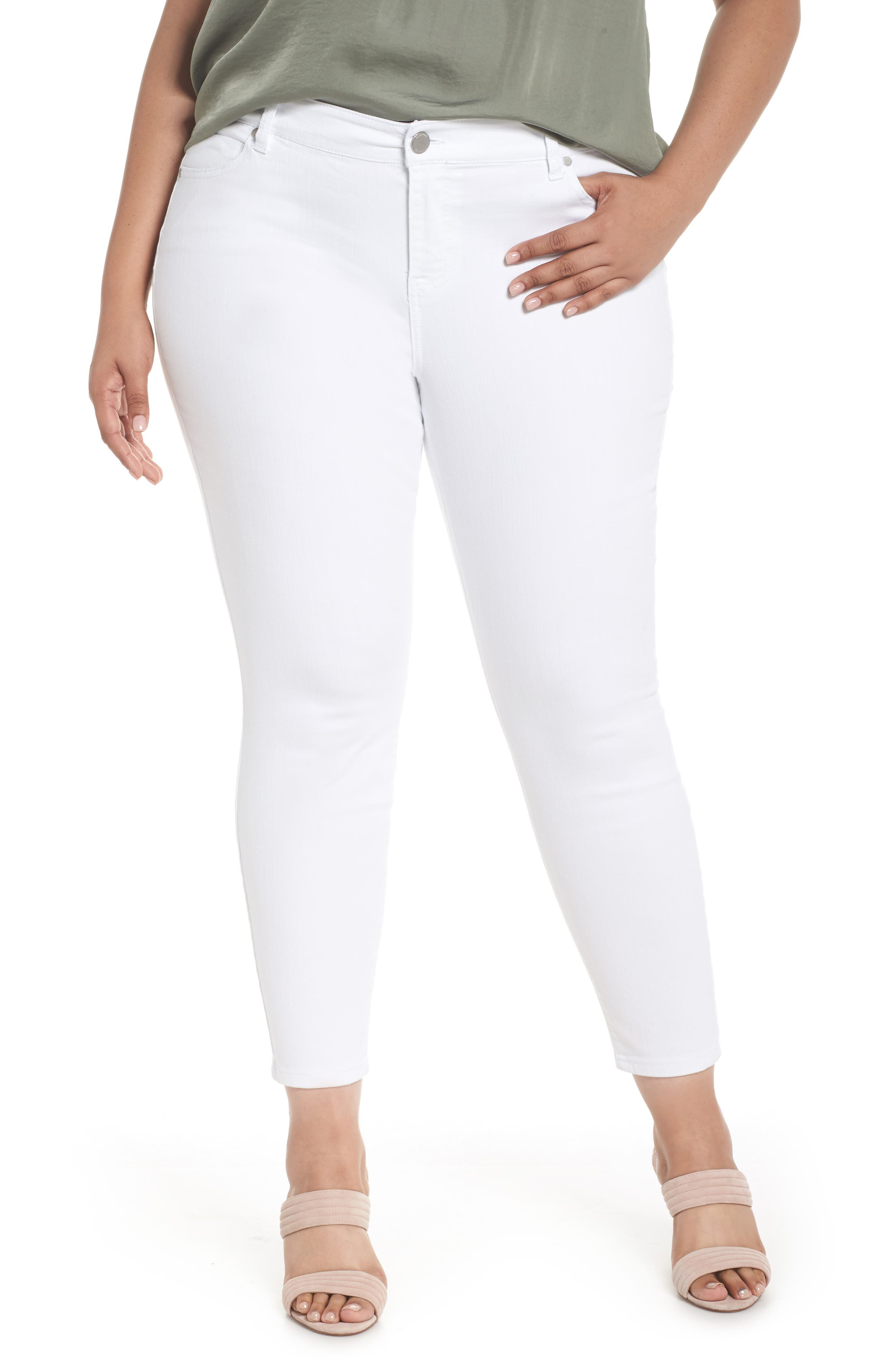 Main Image - Liverpool Jeans Company Penny Ankle Skinny Jeans (Plus Size)