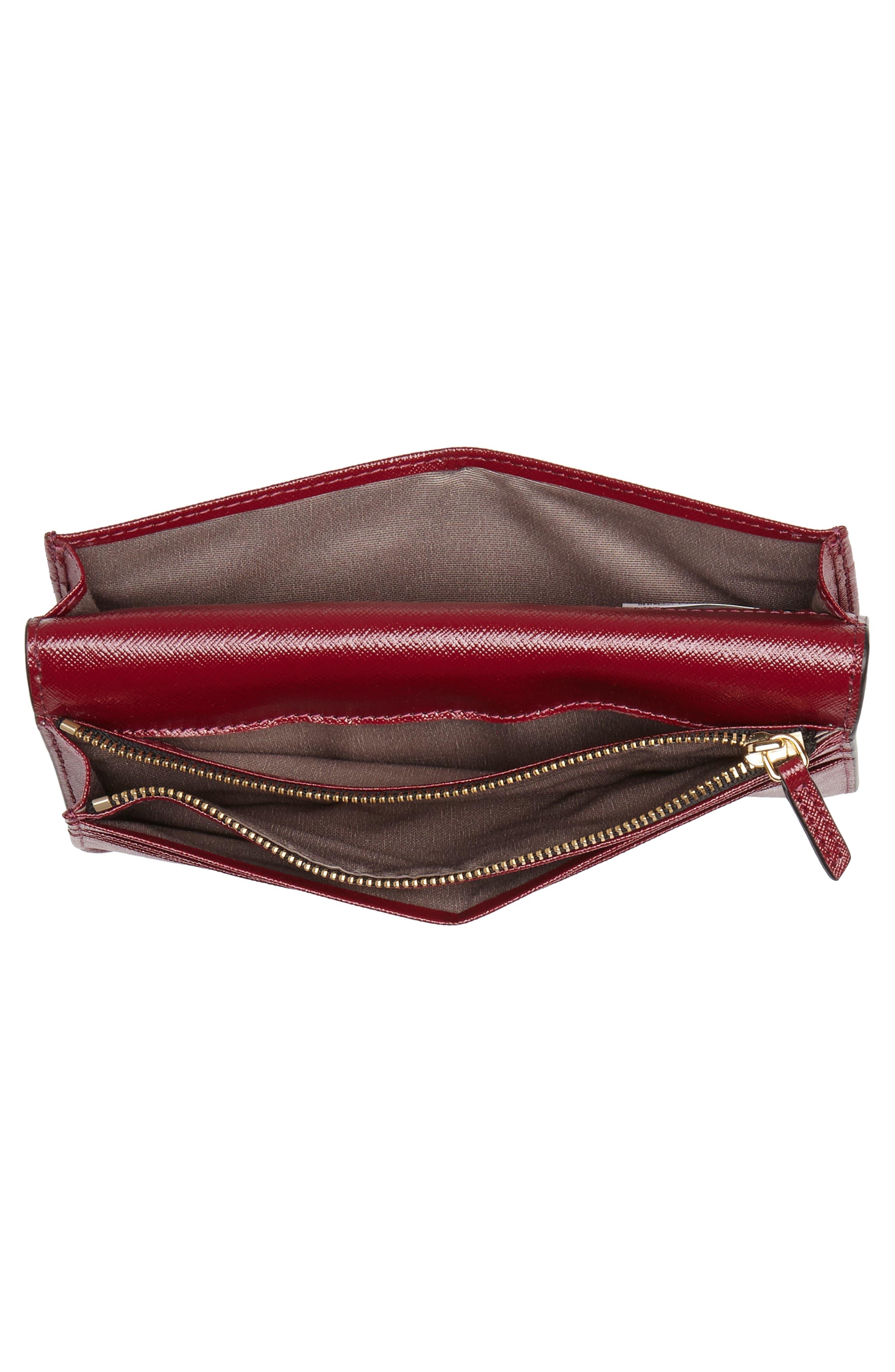Snapshot Open Face Leather Wallet,                             Alternate thumbnail 2, color,                             Light Slate Multi