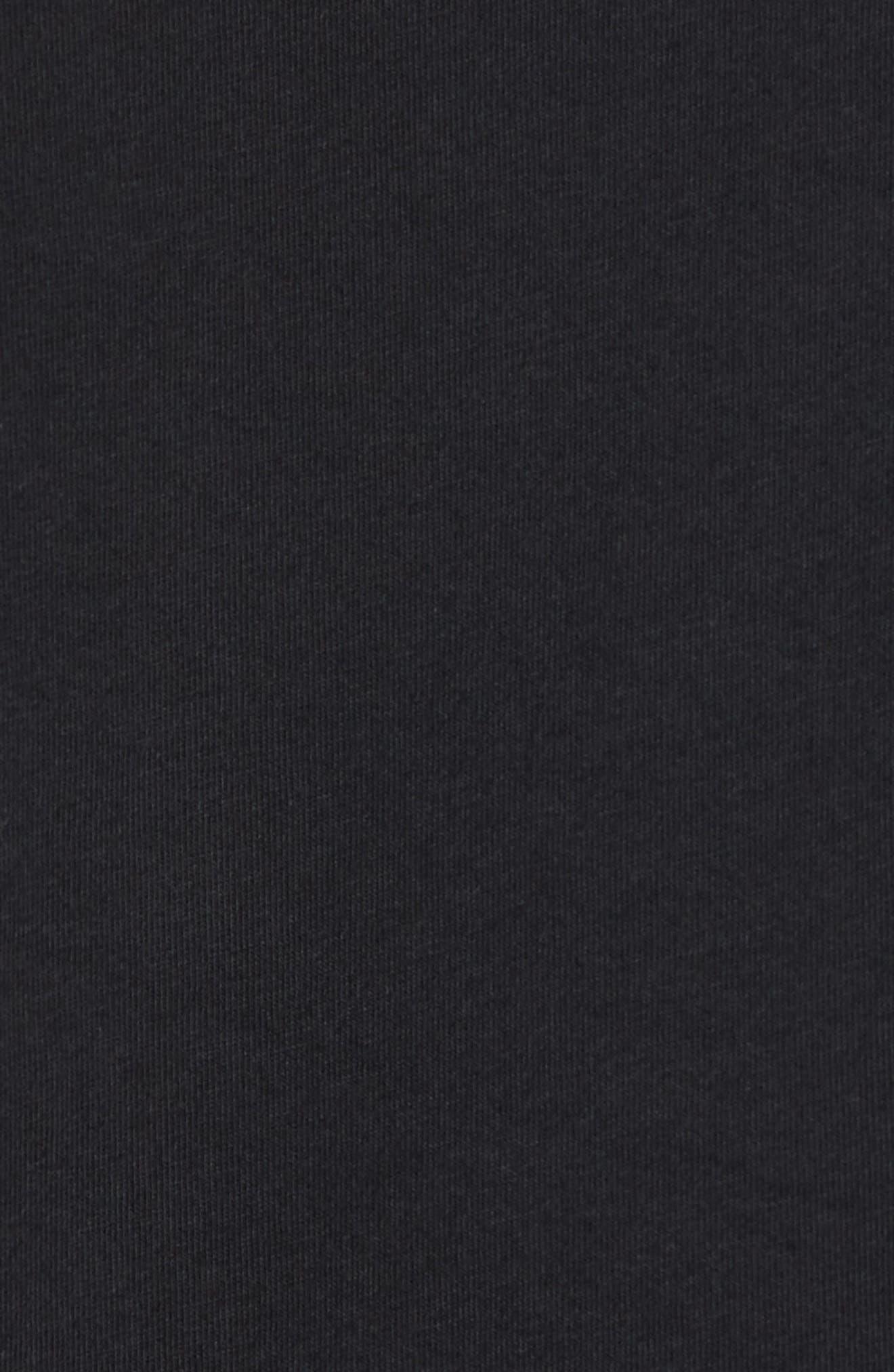 Sportswear City of Flight T-Shirt,                             Alternate thumbnail 5, color,                             Black/ White