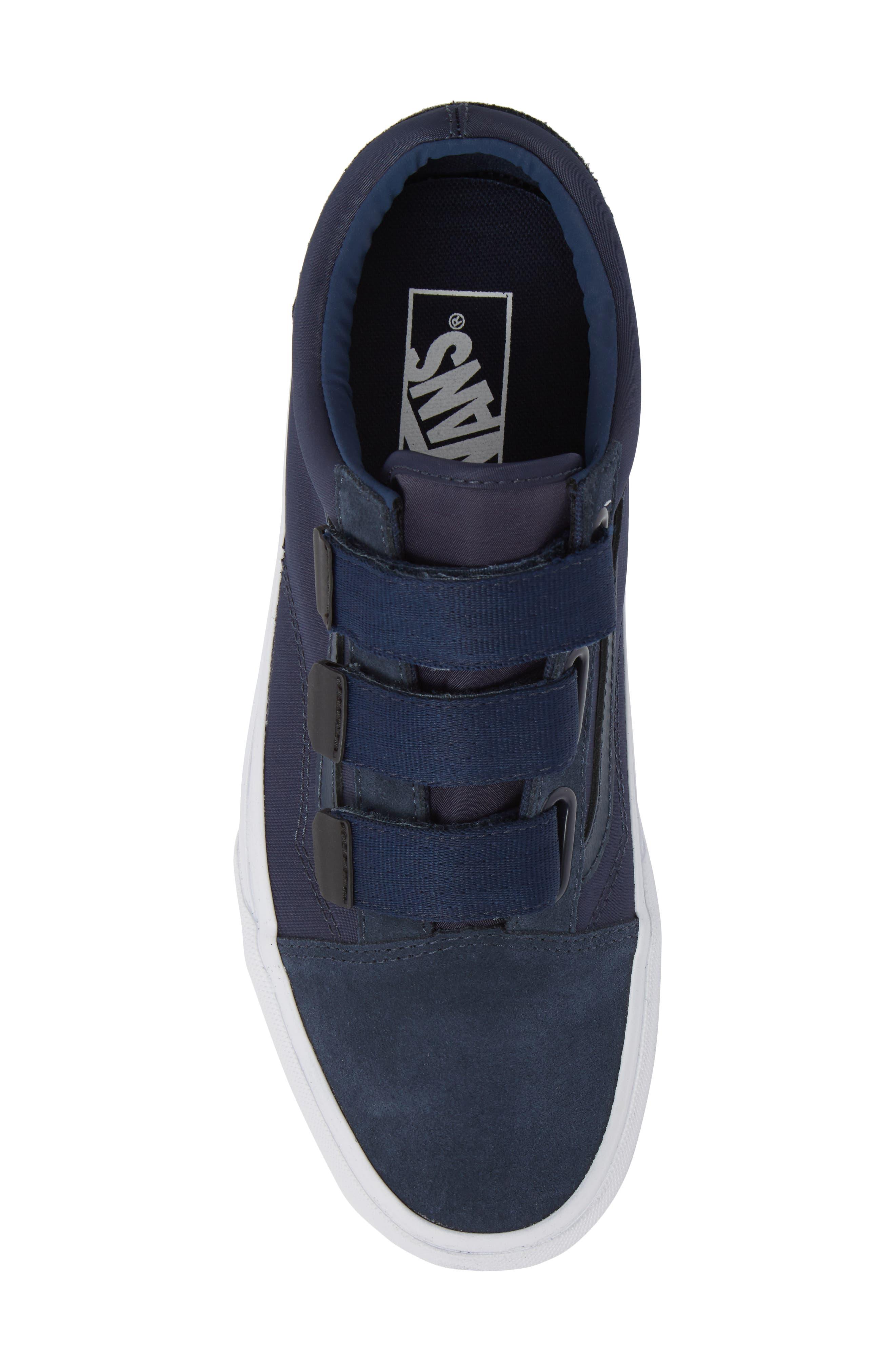 Old School V-Sneaker,                             Alternate thumbnail 5, color,                             Dress Blues