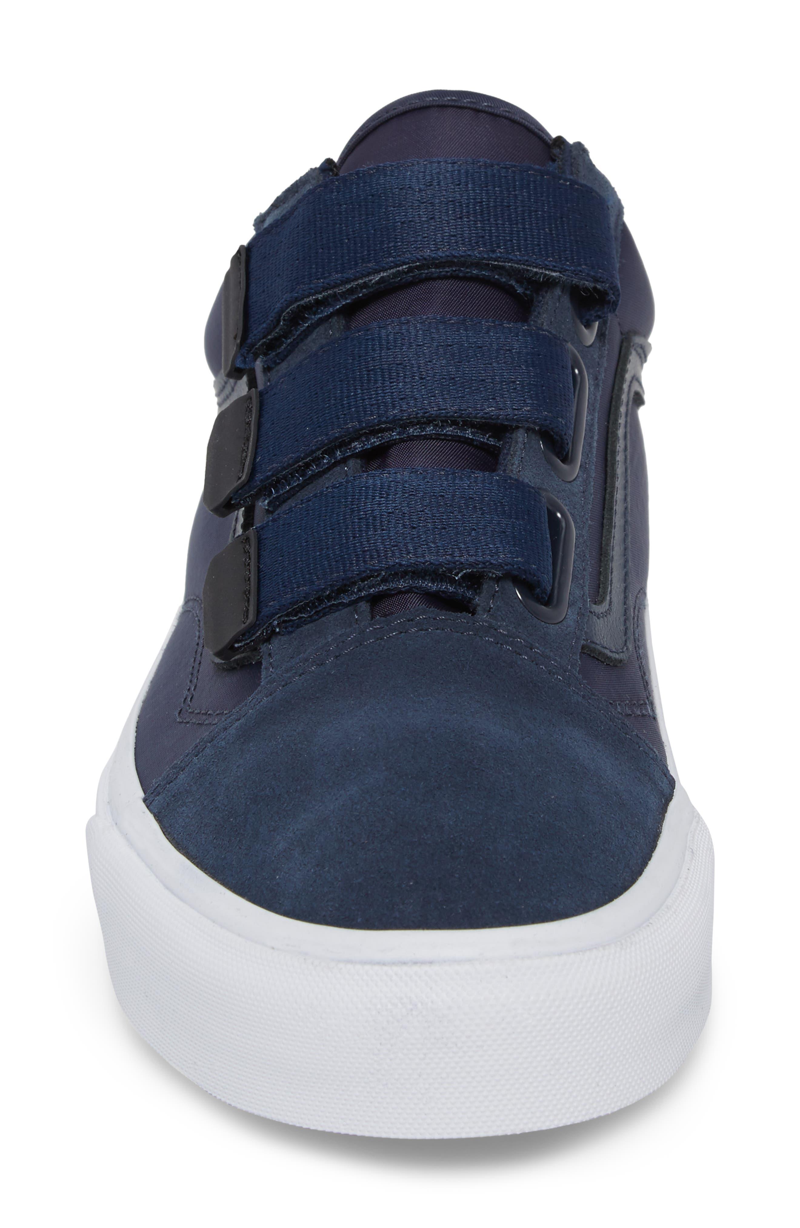 Old School V-Sneaker,                             Alternate thumbnail 4, color,                             Dress Blues