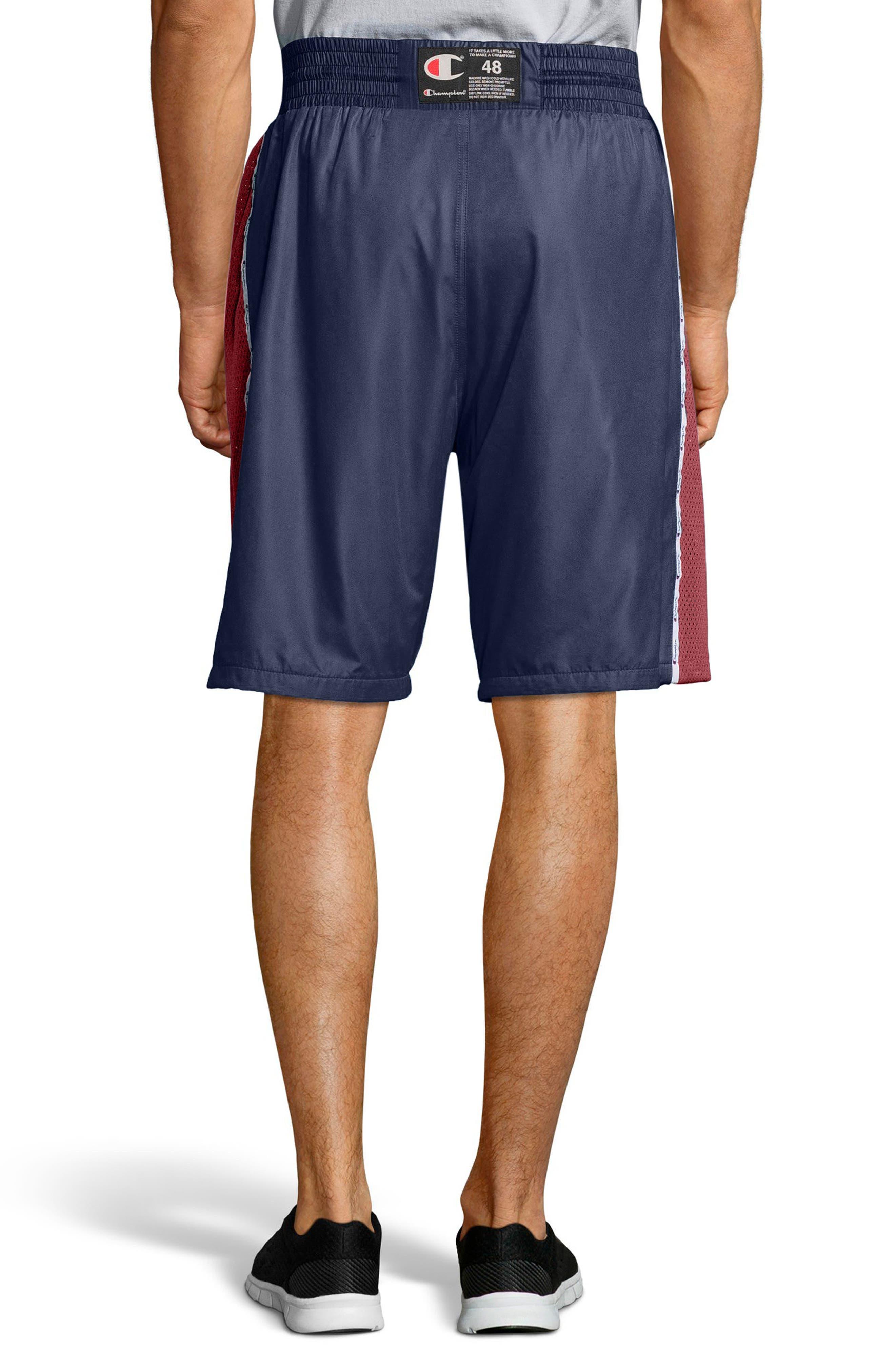 Satin Shorts,                             Alternate thumbnail 2, color,                             Imperail Indigo/Navy