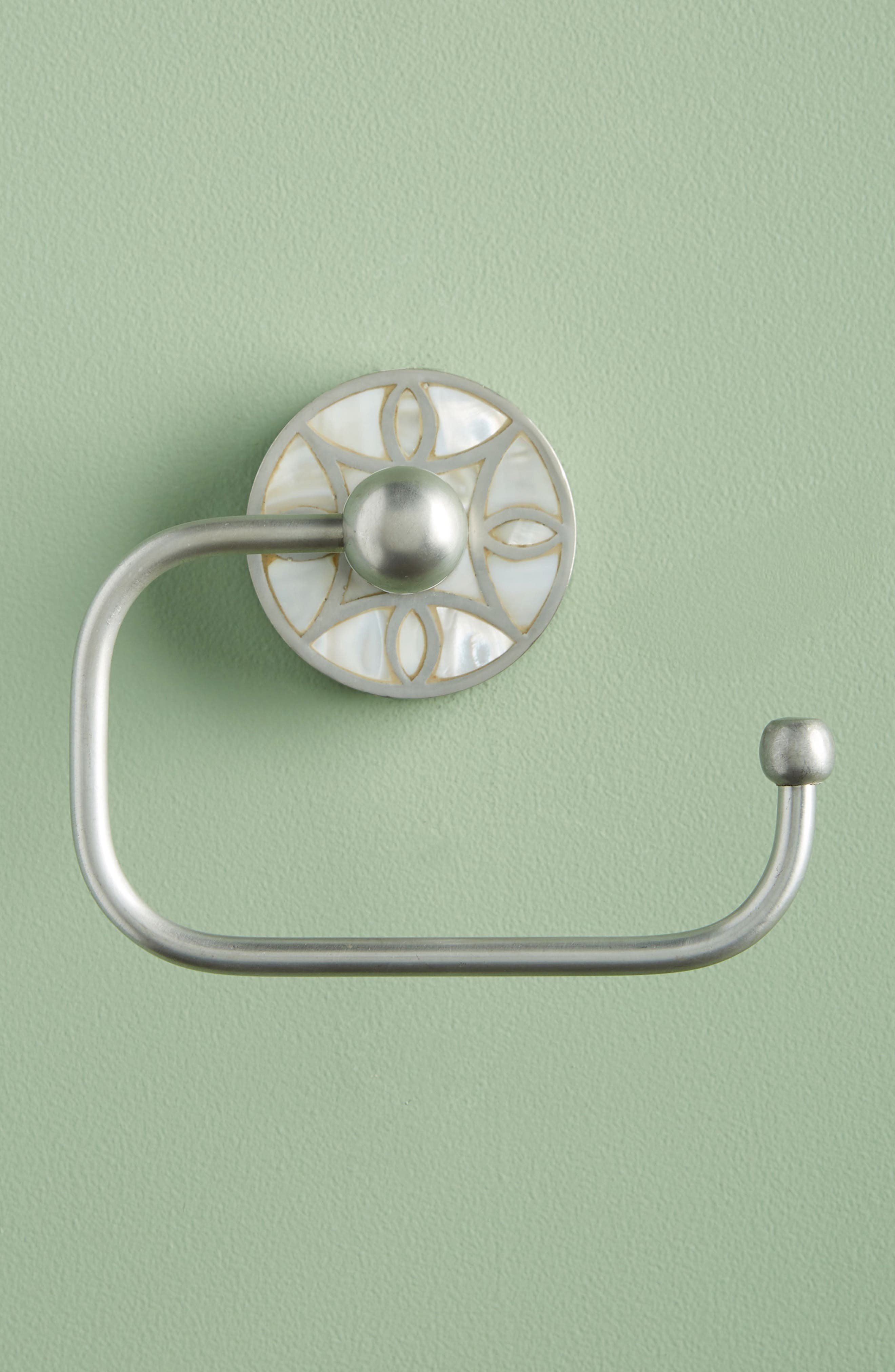 Launis Toilet Paper Holder,                         Main,                         color, Grey