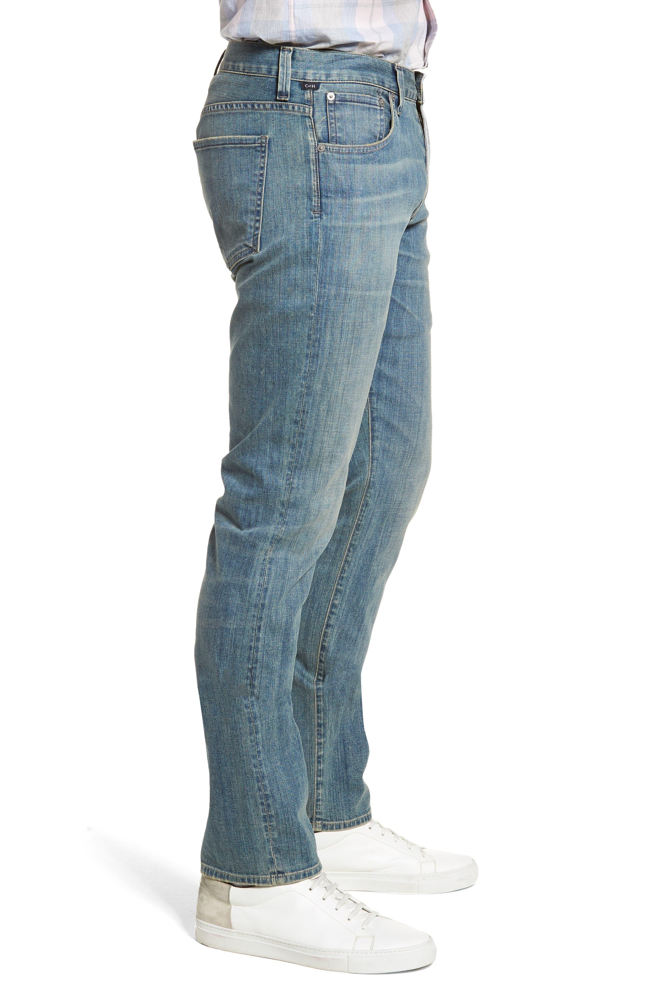 Gage Slim Straight Leg Jeans,                             Alternate thumbnail 3, color,                             Adler