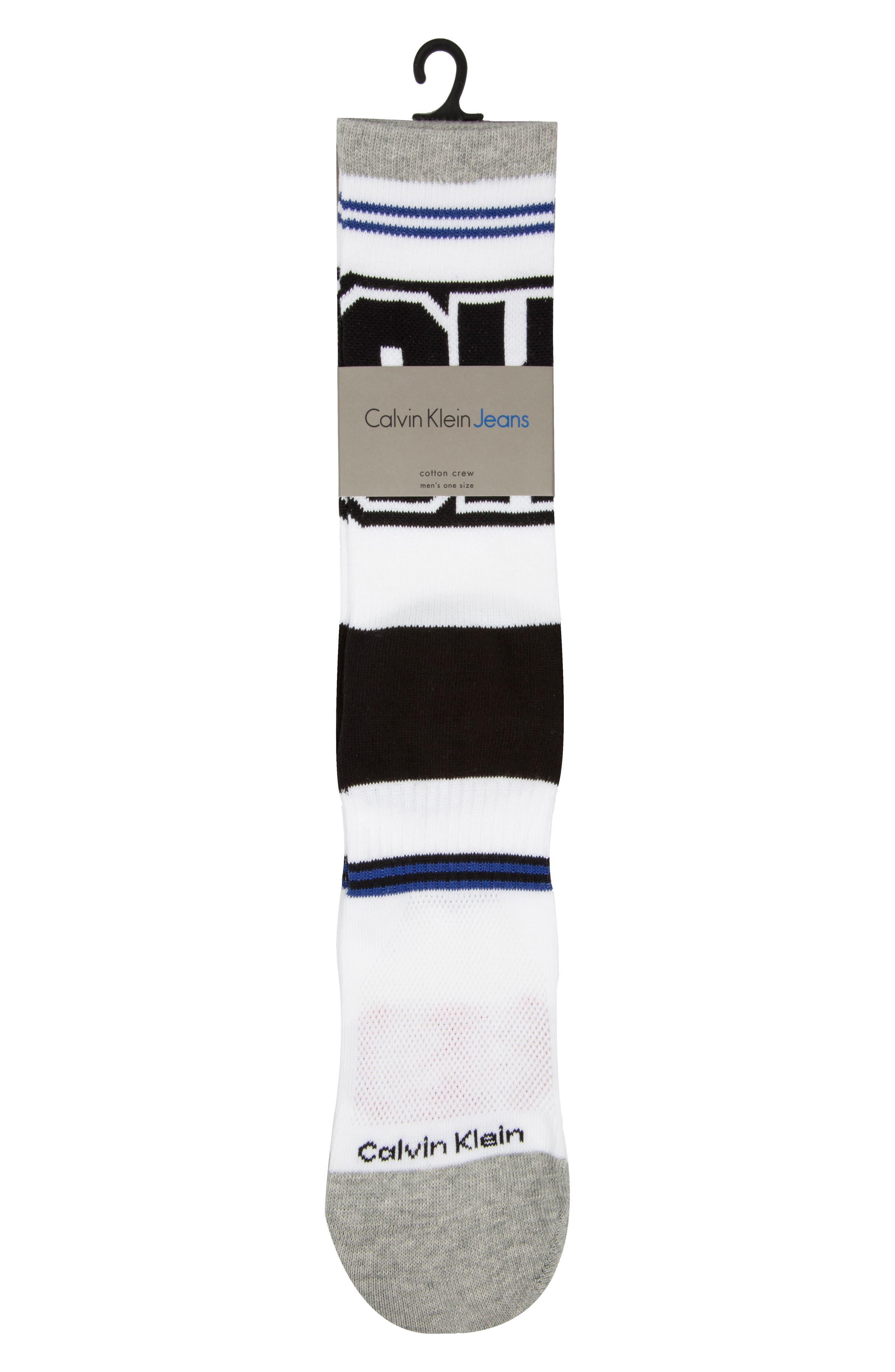 Bold Socks,                             Alternate thumbnail 2, color,                             White