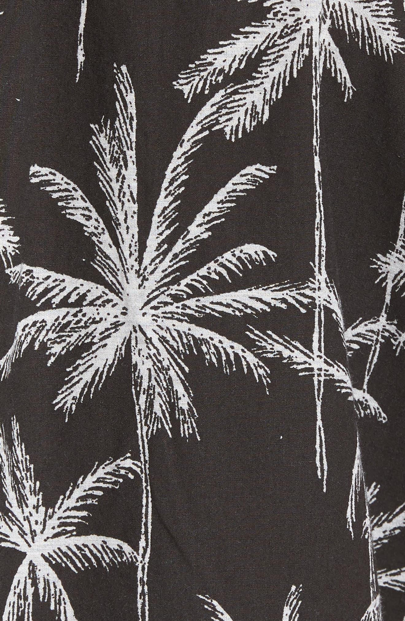 Alternate Image 5  - Rip Curl Palm Trip Short Sleeve Shirt