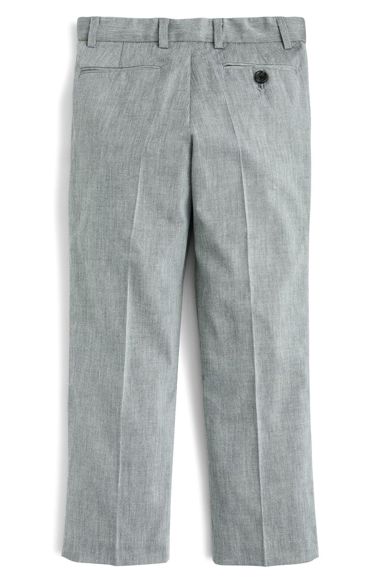 Ludlow Suit Pants,                             Alternate thumbnail 2, color,                             Light Grey