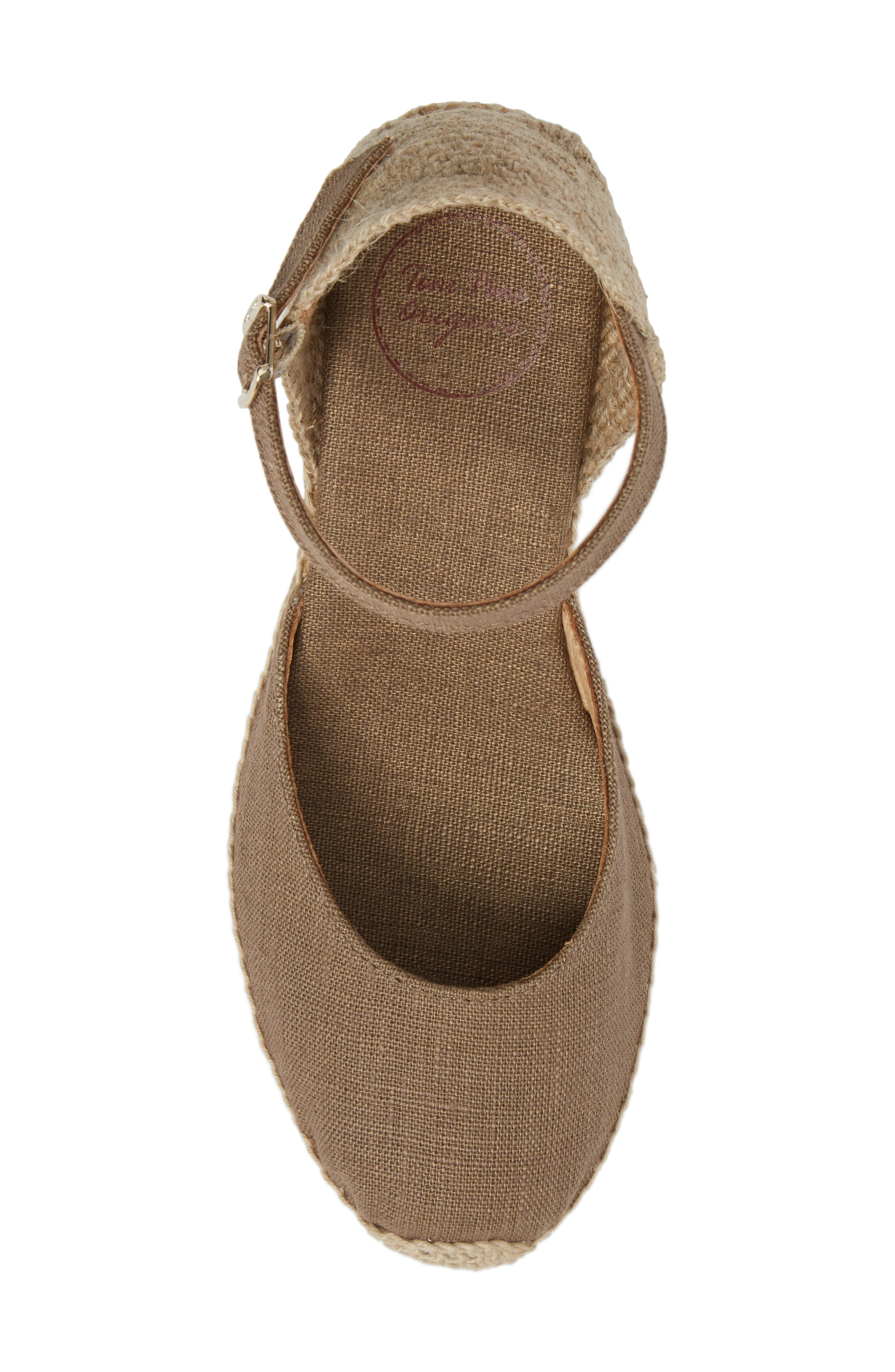 Alternate Image 5  - Toni Pons 'Caldes' Linen Wedge Sandal (Women)