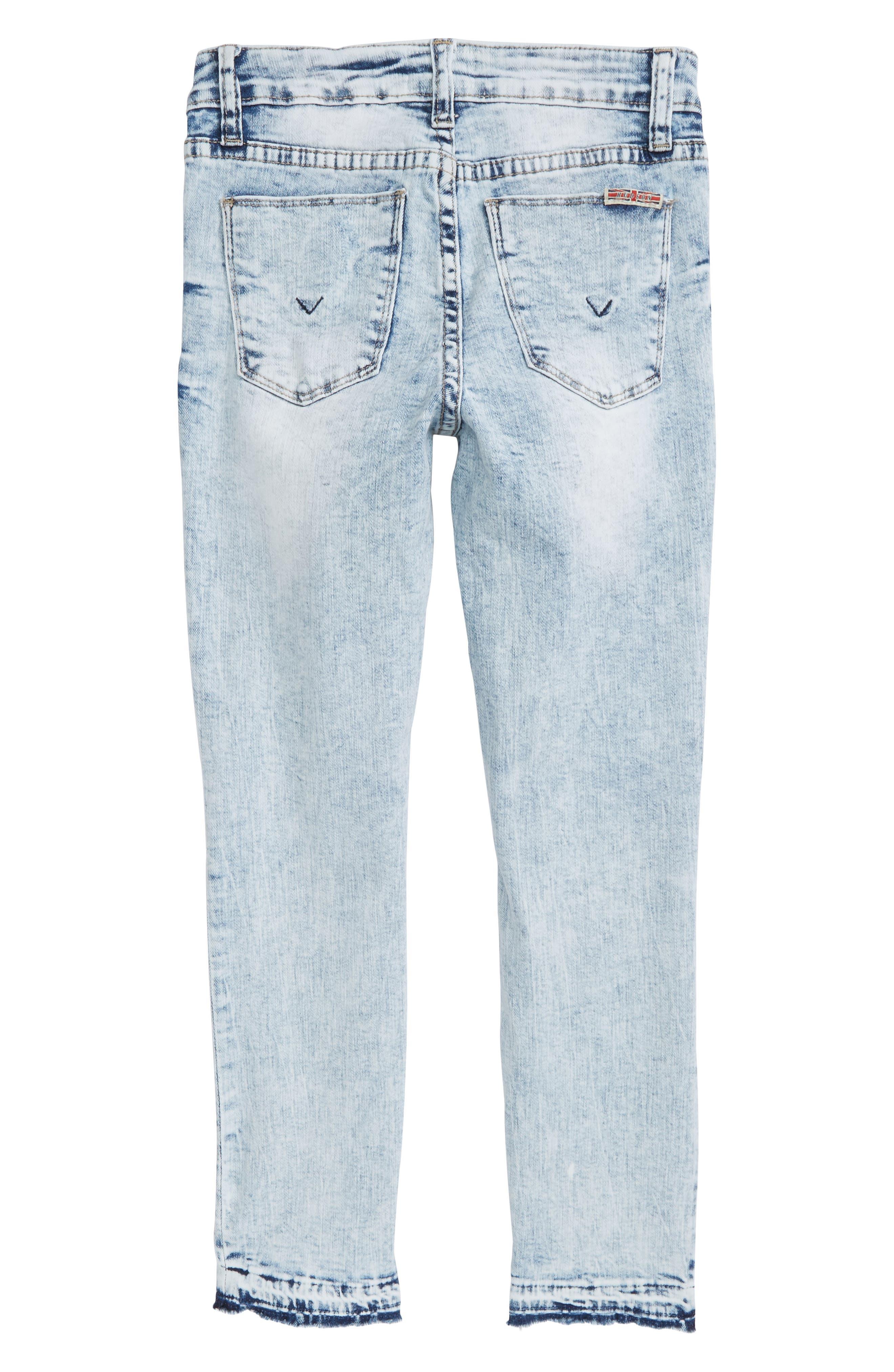 Vicky Crop Skinny Jeans,                             Alternate thumbnail 2, color,                             Iceberg Wash