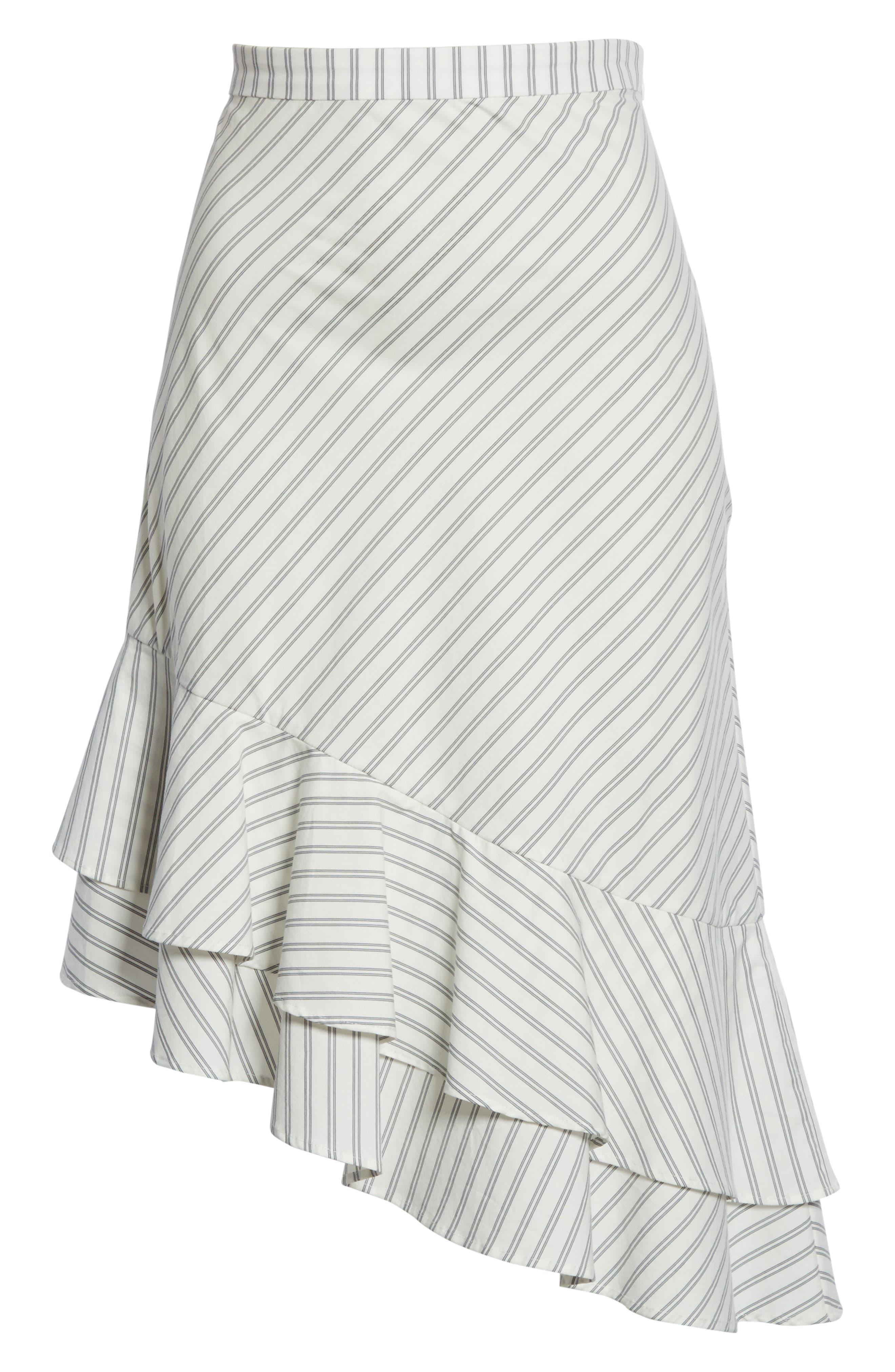 Yenene Skirt,                             Alternate thumbnail 6, color,                             Porcelain