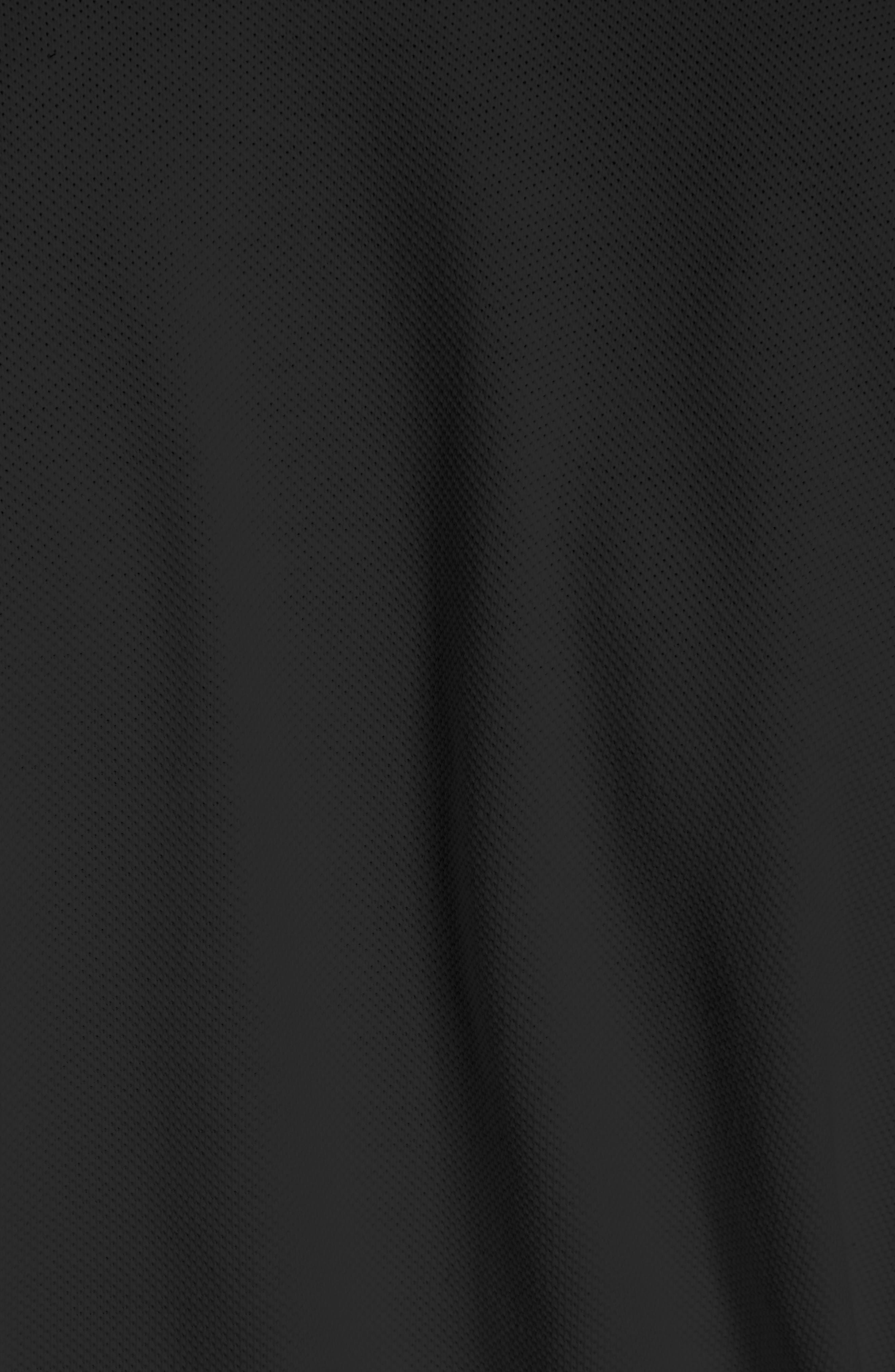 Polo Bodysuit,                             Alternate thumbnail 5, color,                             Noir