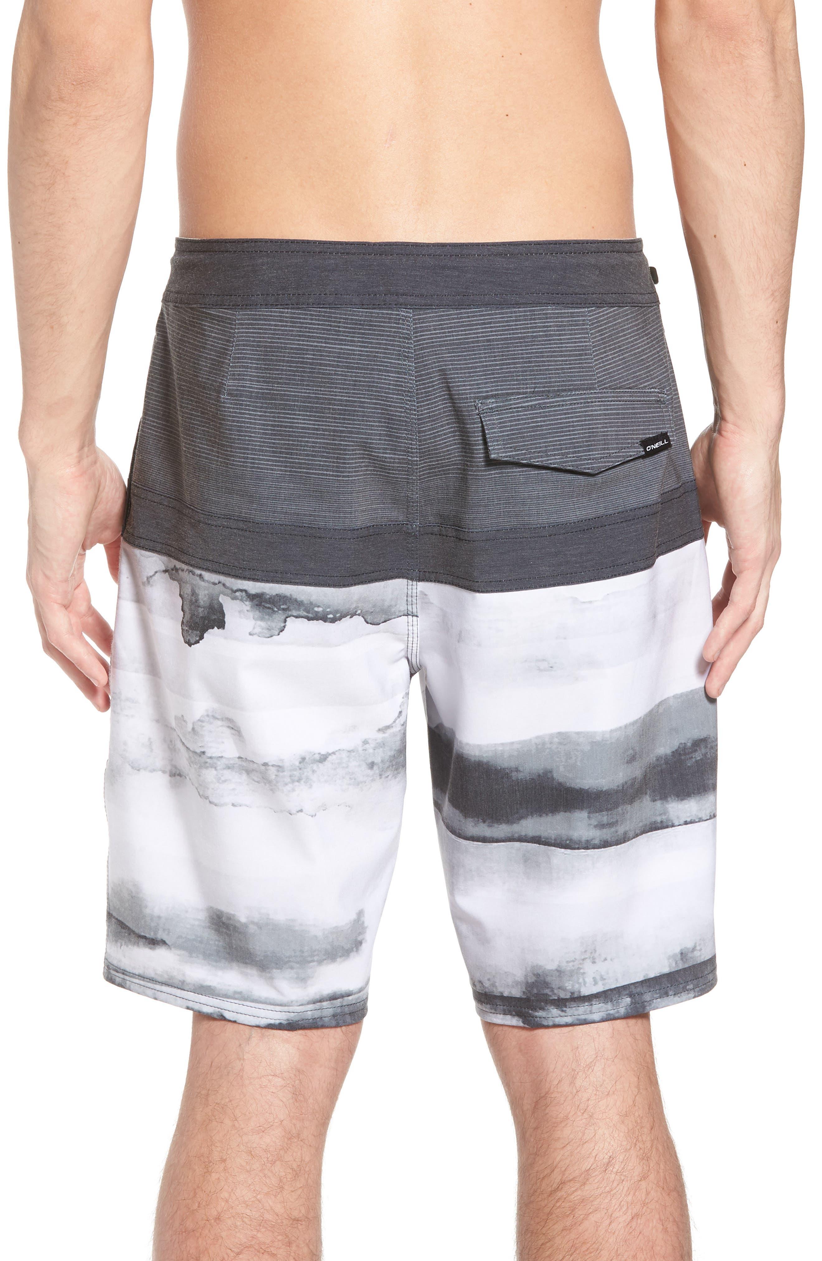 Breaker Cruzer Board Shorts,                             Alternate thumbnail 2, color,                             Black