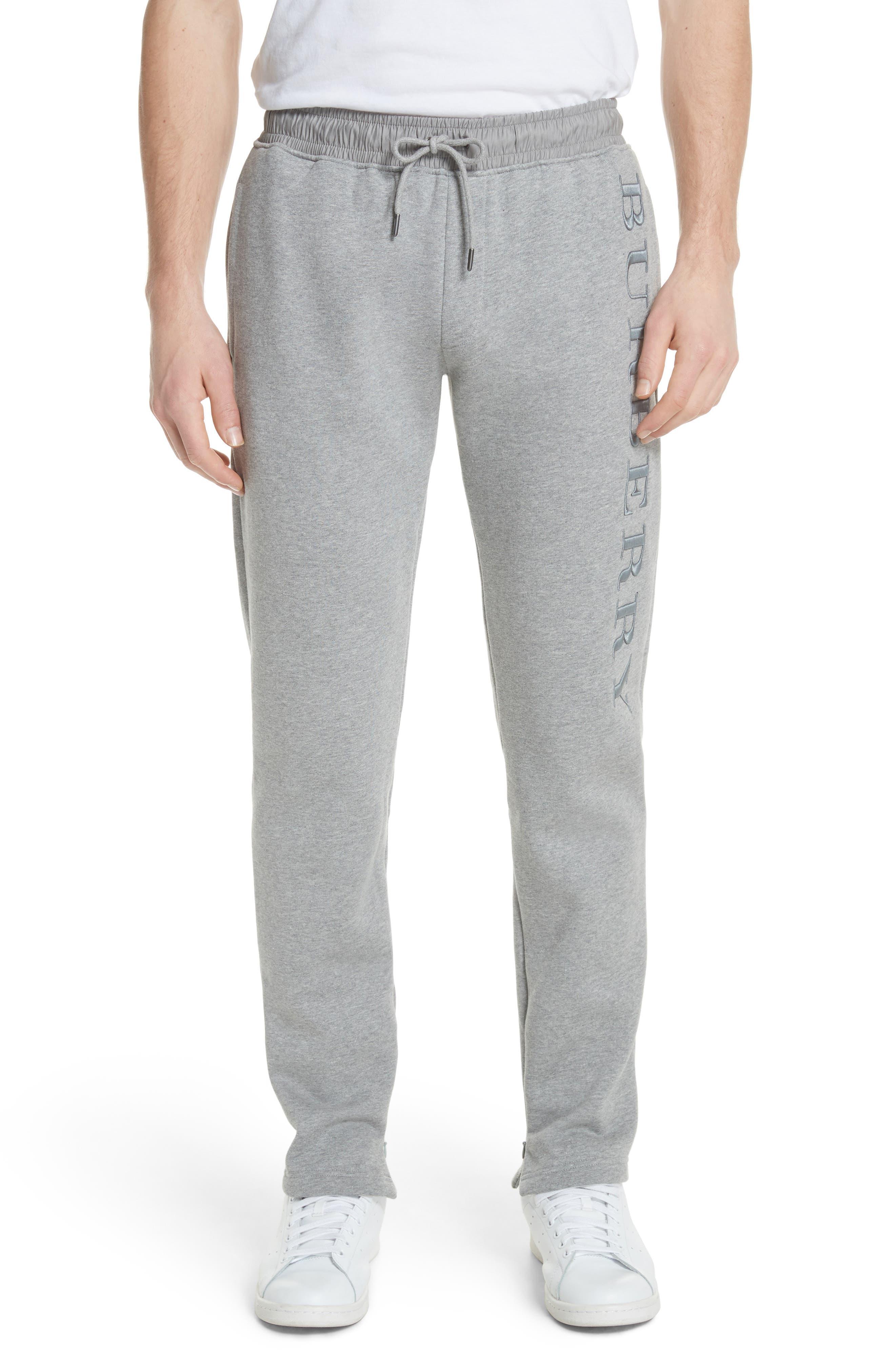 Nickford Lounge Pants,                             Main thumbnail 1, color,                             Pale Grey Melange