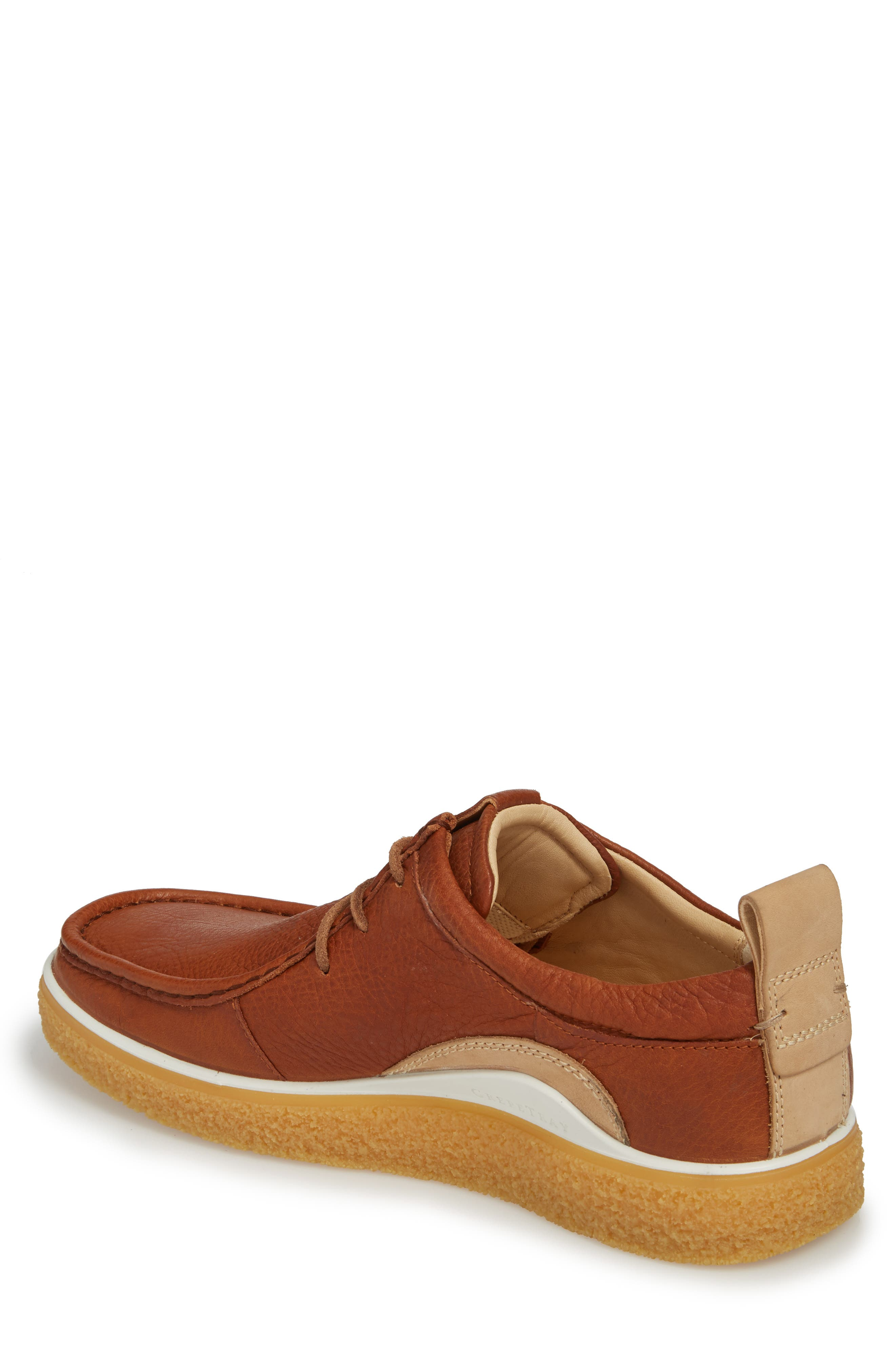 Crepetray Moc Toe Lace-Up,                             Alternate thumbnail 2, color,                             Lion Leather
