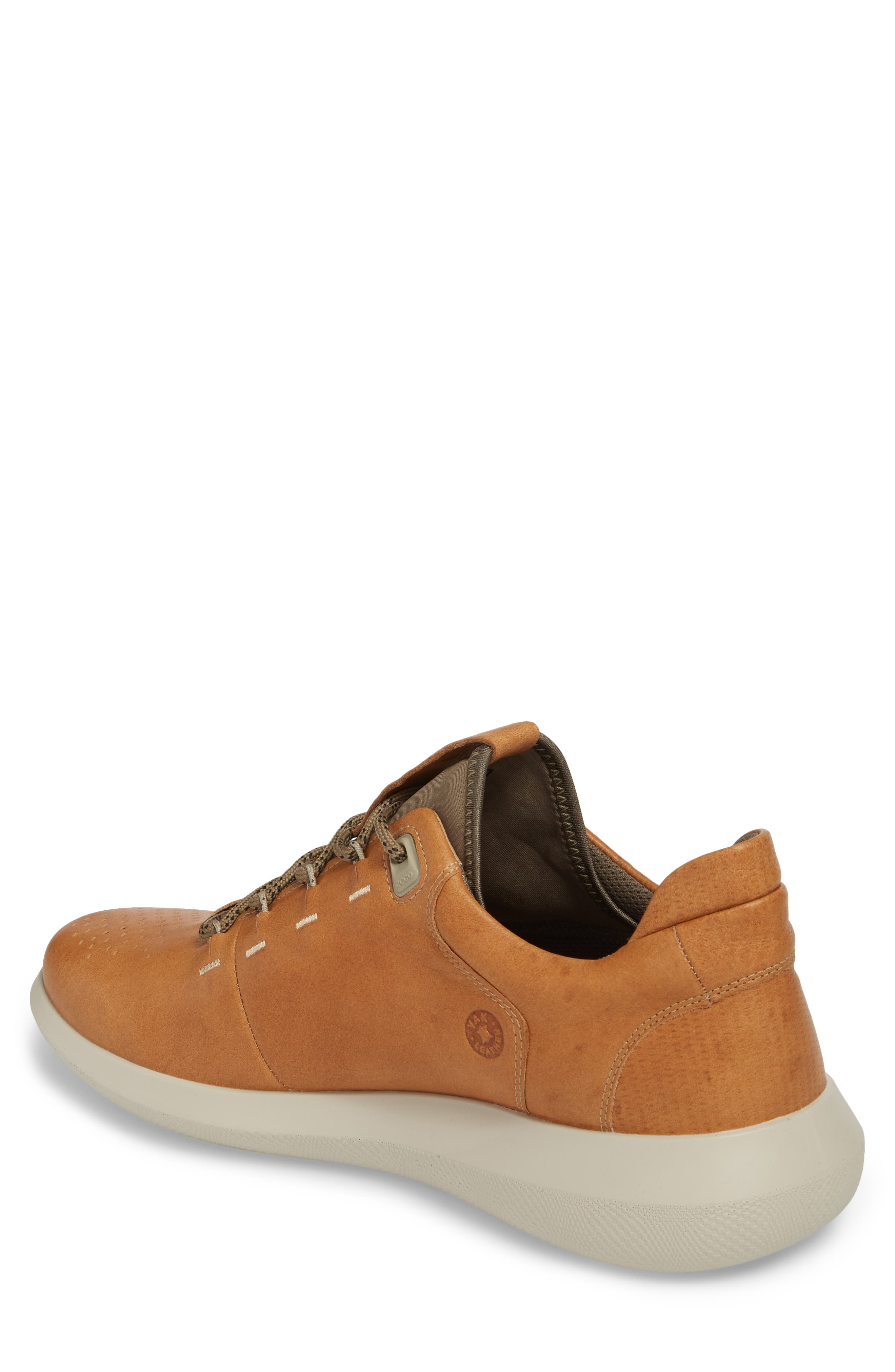 Scinapse Sneaker,                             Alternate thumbnail 2, color,                             Brown Leather