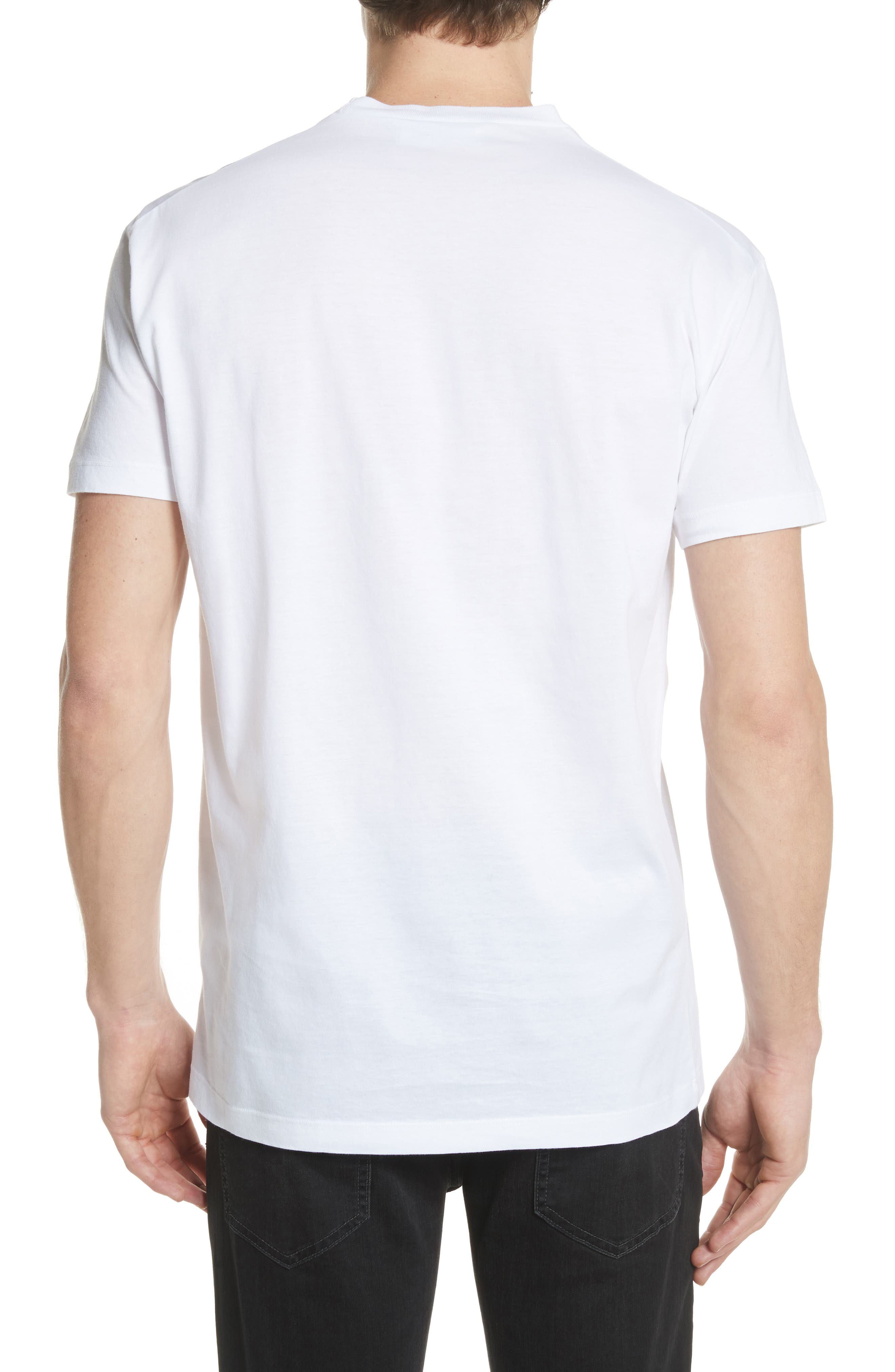 Savage Graphic T-Shirt,                             Alternate thumbnail 2, color,                             White