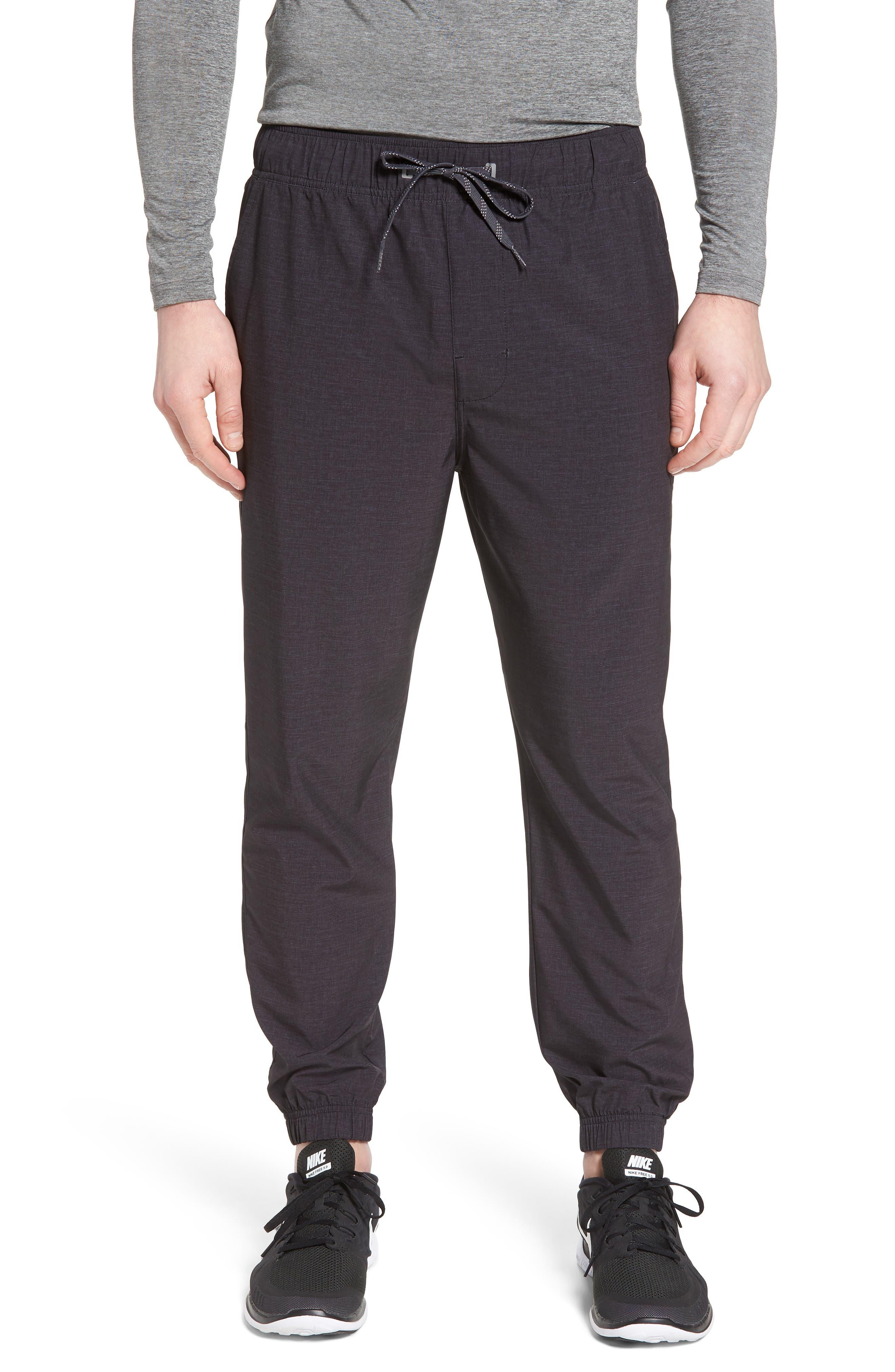 Spencer Jogger Pants,                         Main,                         color, Black Heather