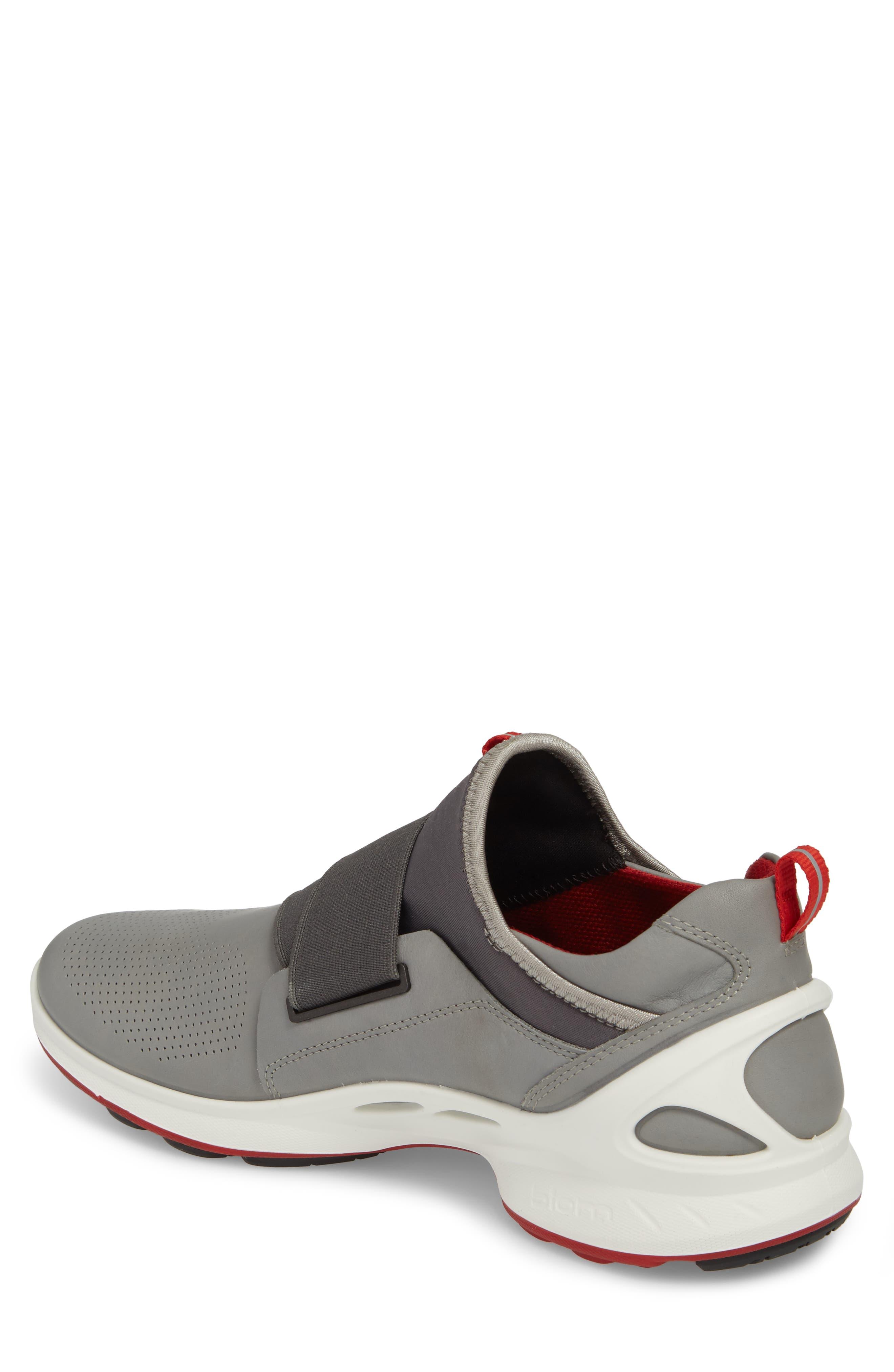 BIOM Fjuel Band Sneaker,                             Alternate thumbnail 2, color,                             Dark Shadow/ Titanium Leather