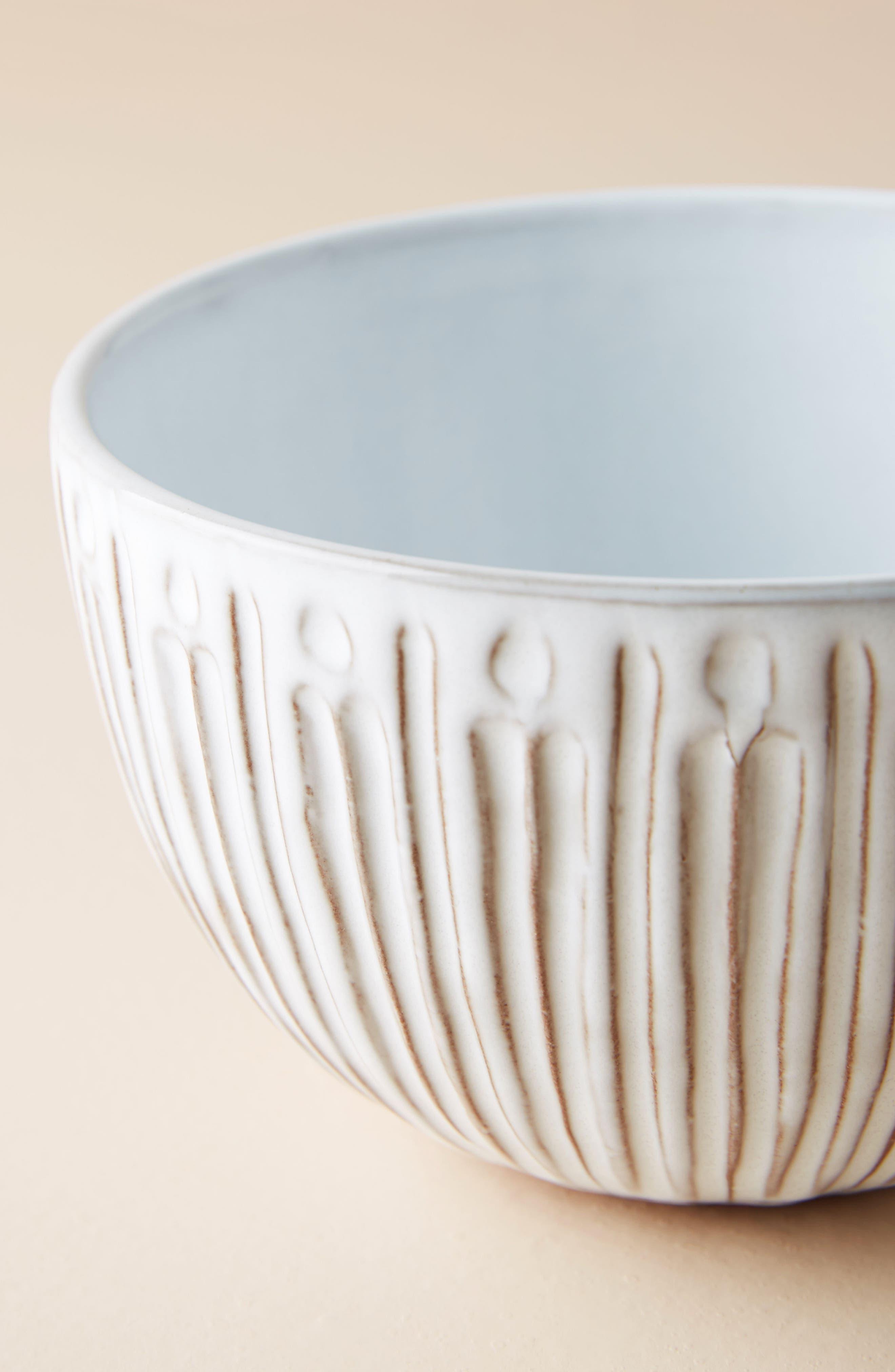 Elana Bowl,                             Alternate thumbnail 2, color,                             White