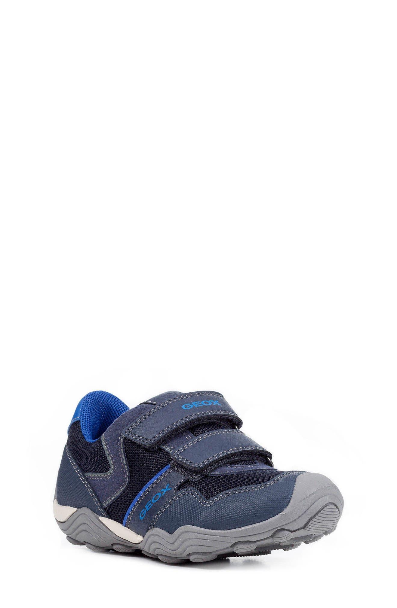 Jr Arno 13 Sneaker,                         Main,                         color, Navy/ Royal Blue
