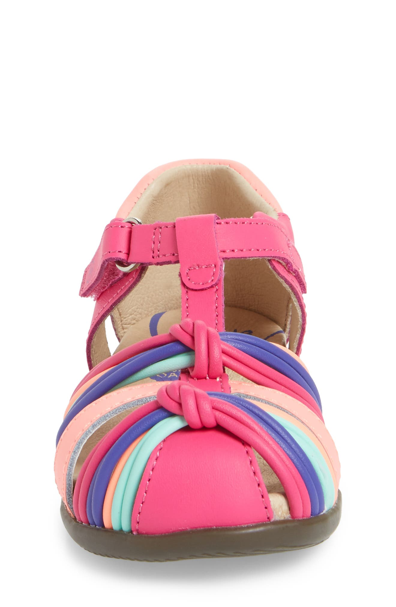 Alternate Image 4  - Stride Rite Dana Fisherman Sandal (Baby, Walker & Toddler)