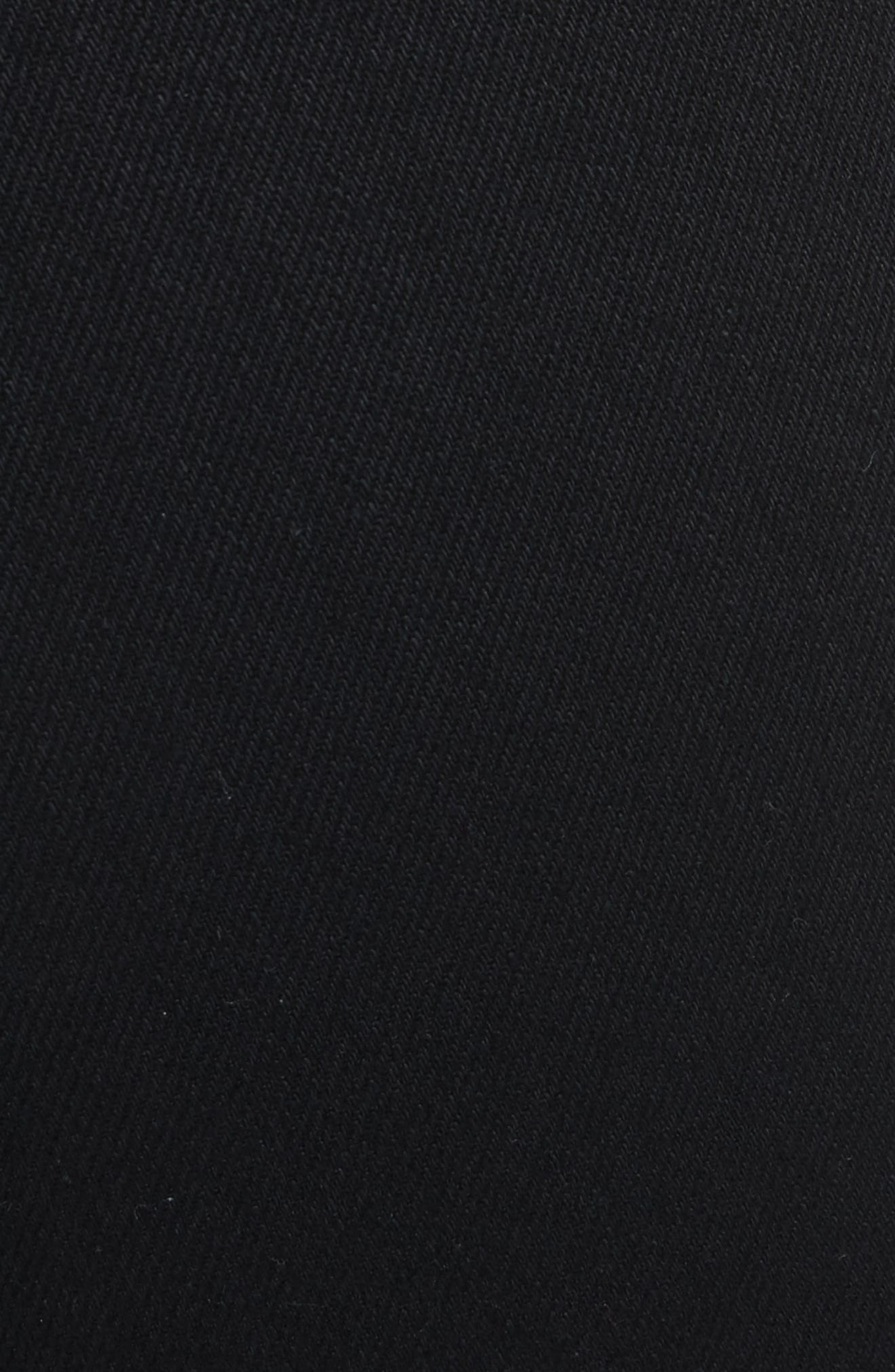 Hina High Rise Crop Pants,                             Alternate thumbnail 5, color,                             Black