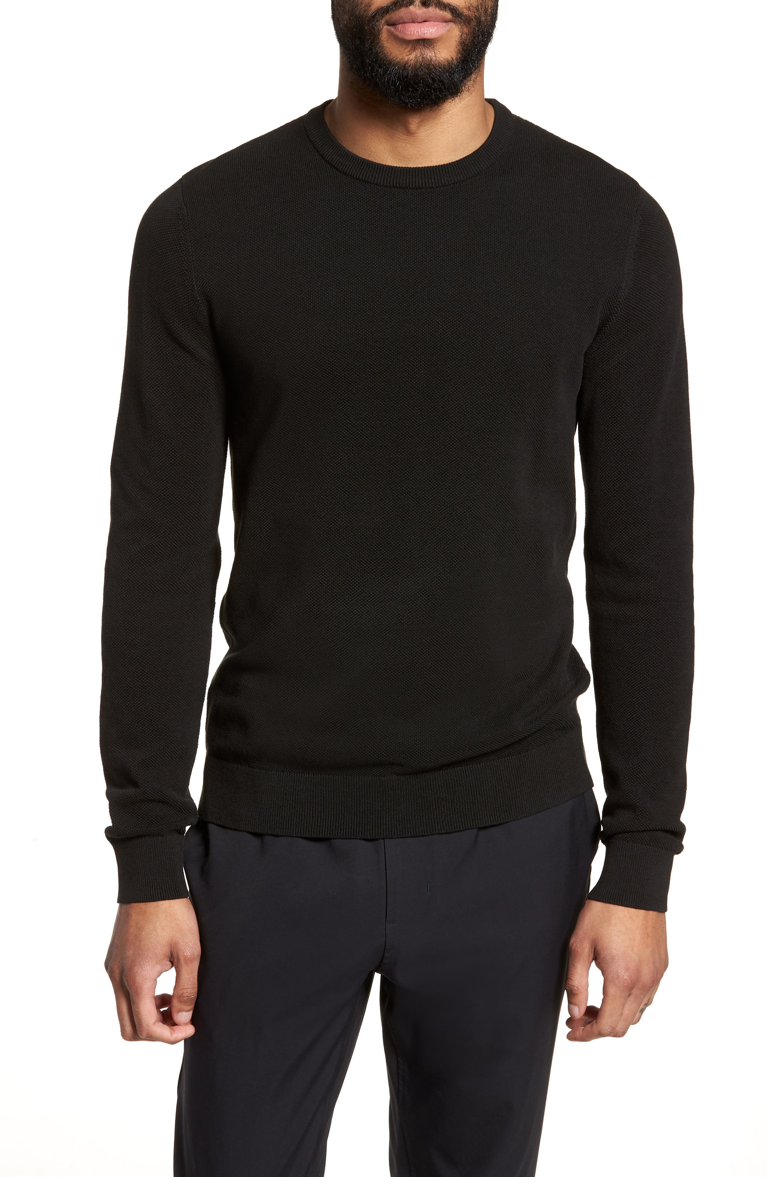 Theory Riland Cotton Long Sleeve T-Shirt