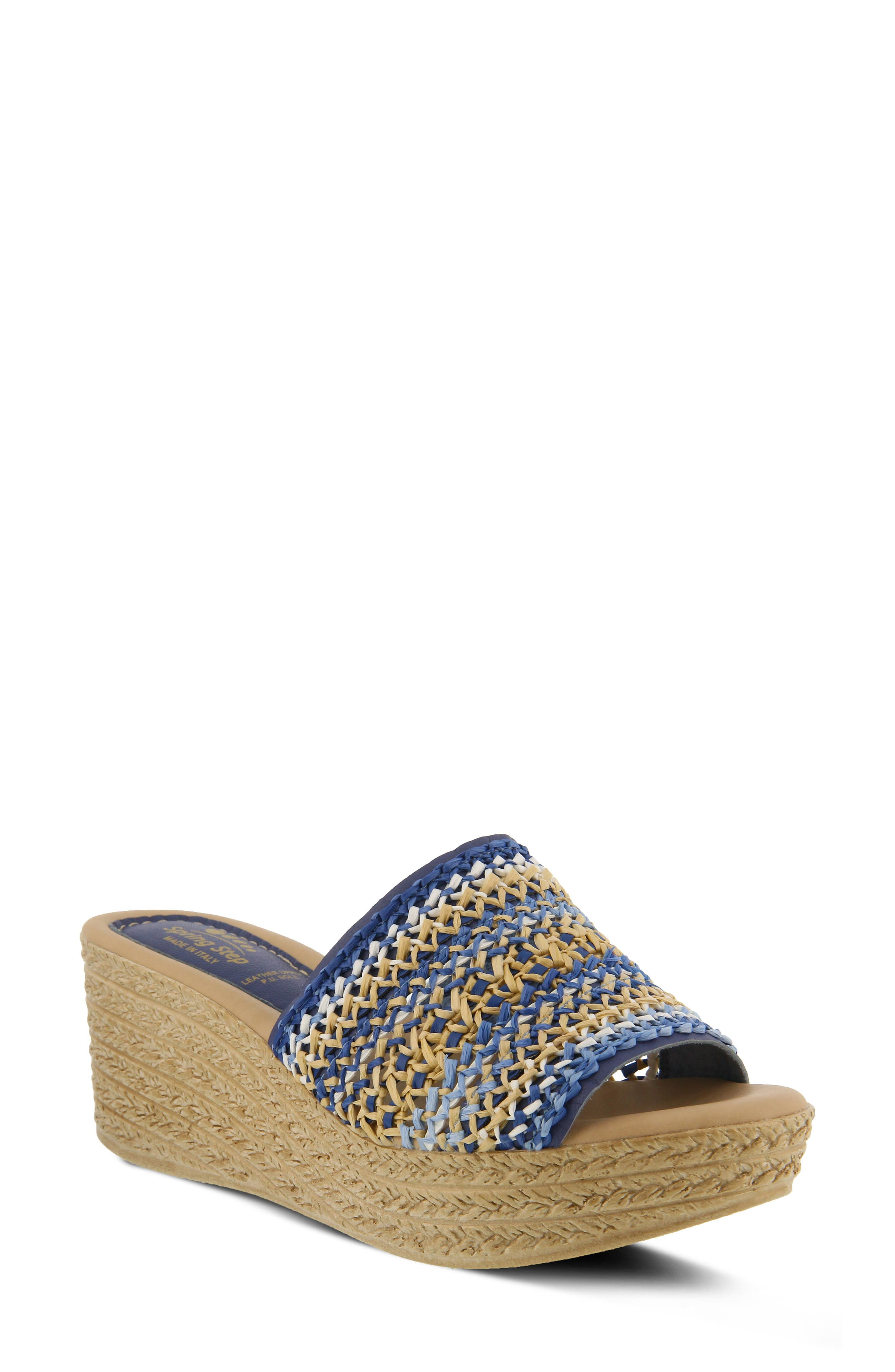 Spring Step Calci Espadrille Wedge Sandal (Women)