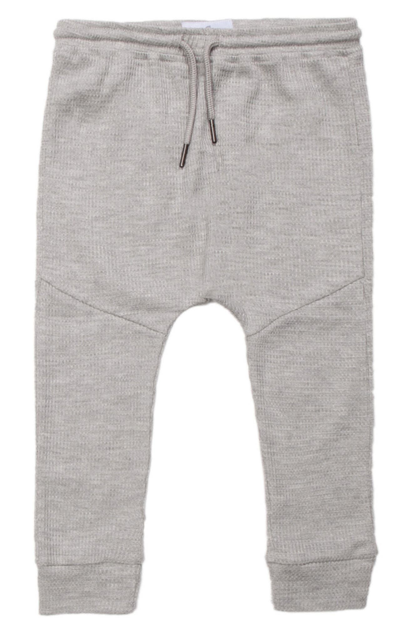 Jude Thermal Jogger Pants,                         Main,                         color, Heather Grey