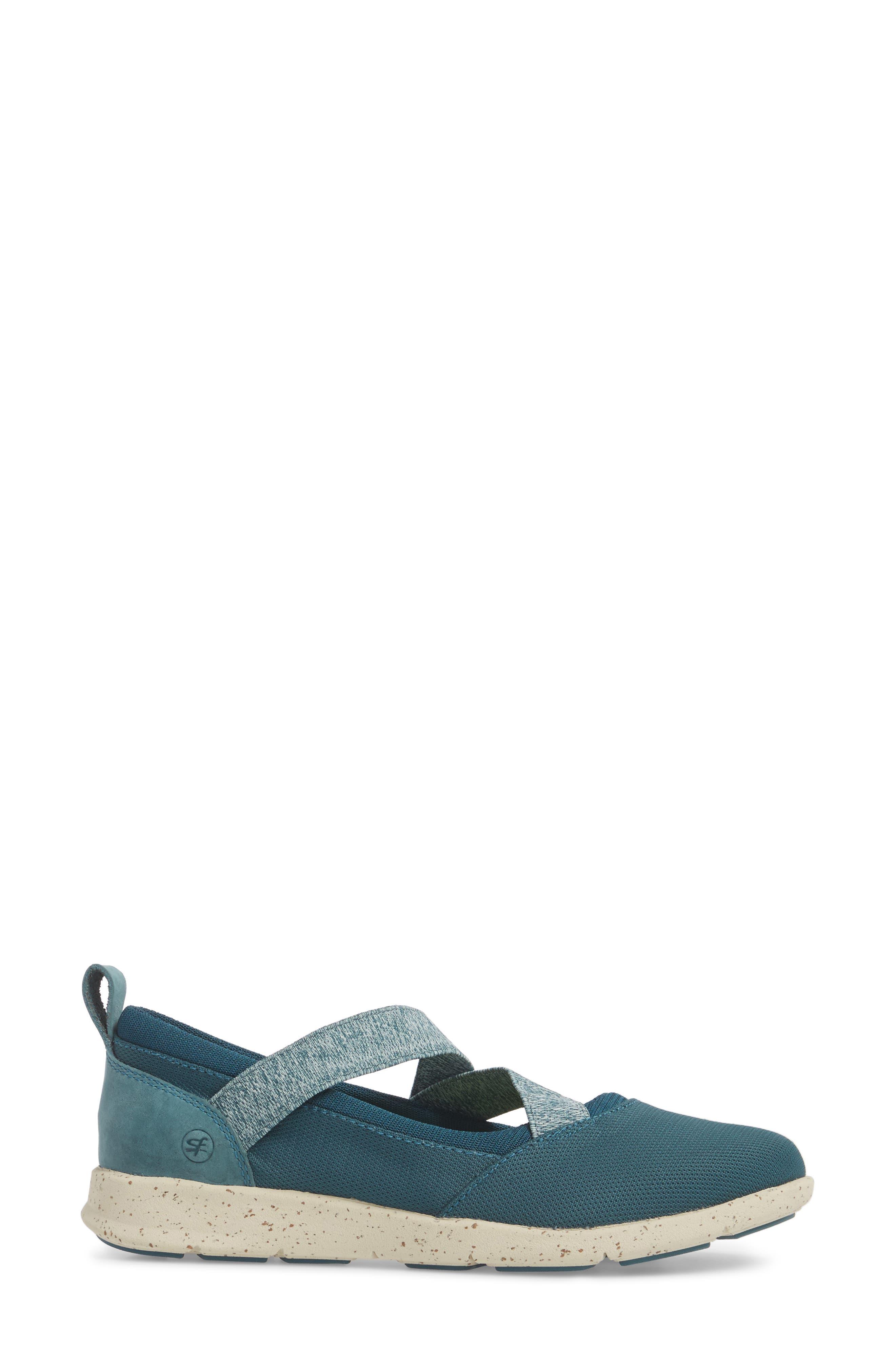 Palisade Sneaker,                             Alternate thumbnail 3, color,                             Balsam Blue Leather