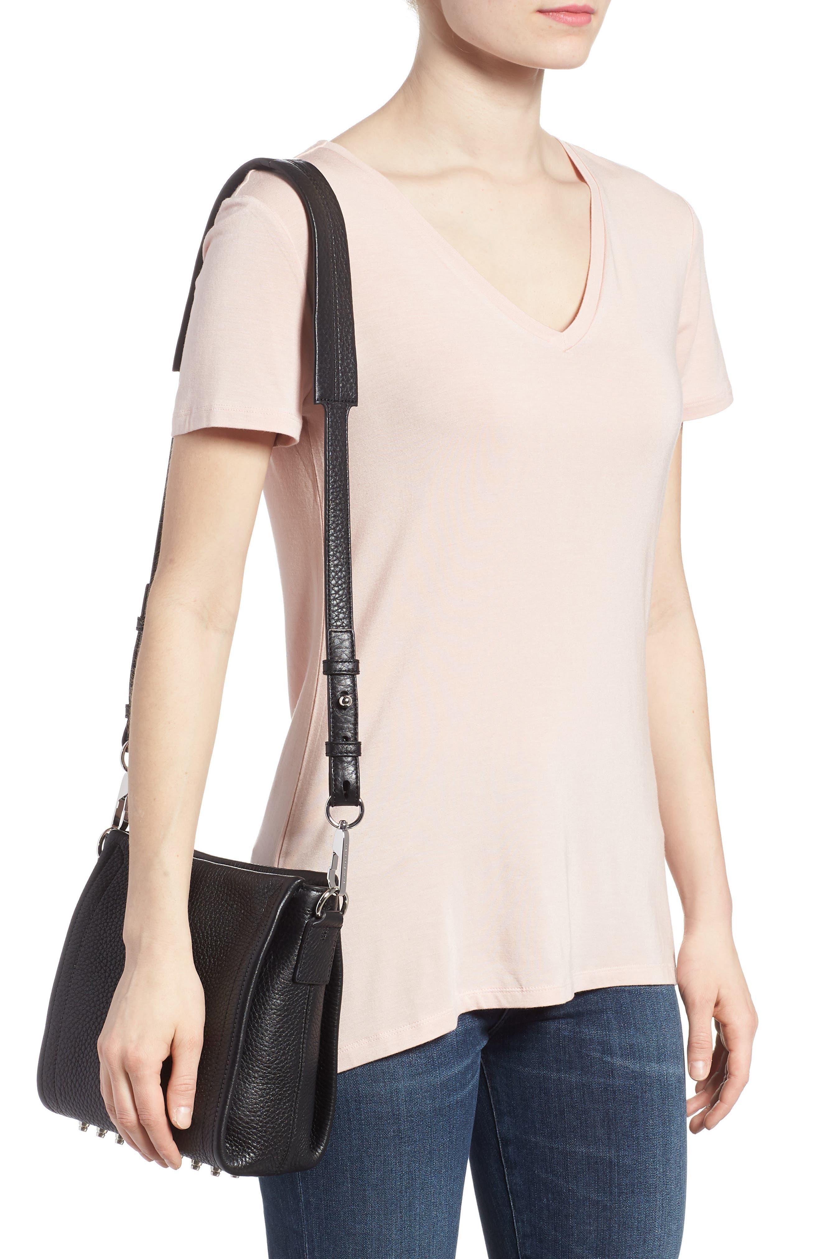 Alternate Image 2  - Alexander Wang Mini Darcy Leather Shoulder Bag