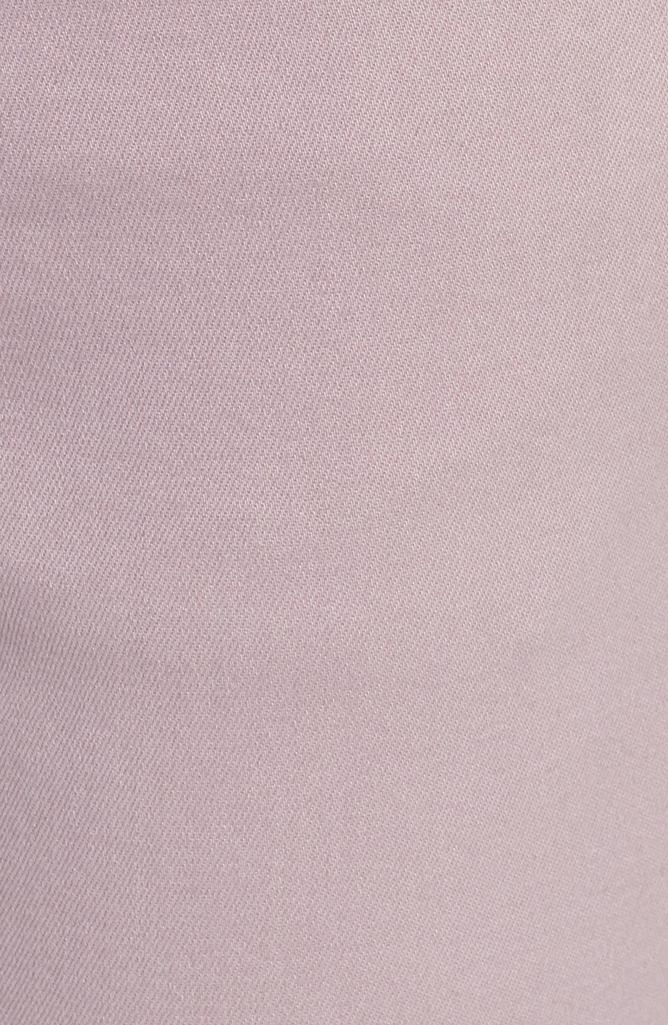 Florence Instasculpt Crop Skinny Jeans,                             Alternate thumbnail 6, color,                             Magnolia