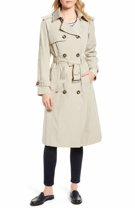 06db29e96f612 London Fog Long Double Breasted Trench Coat