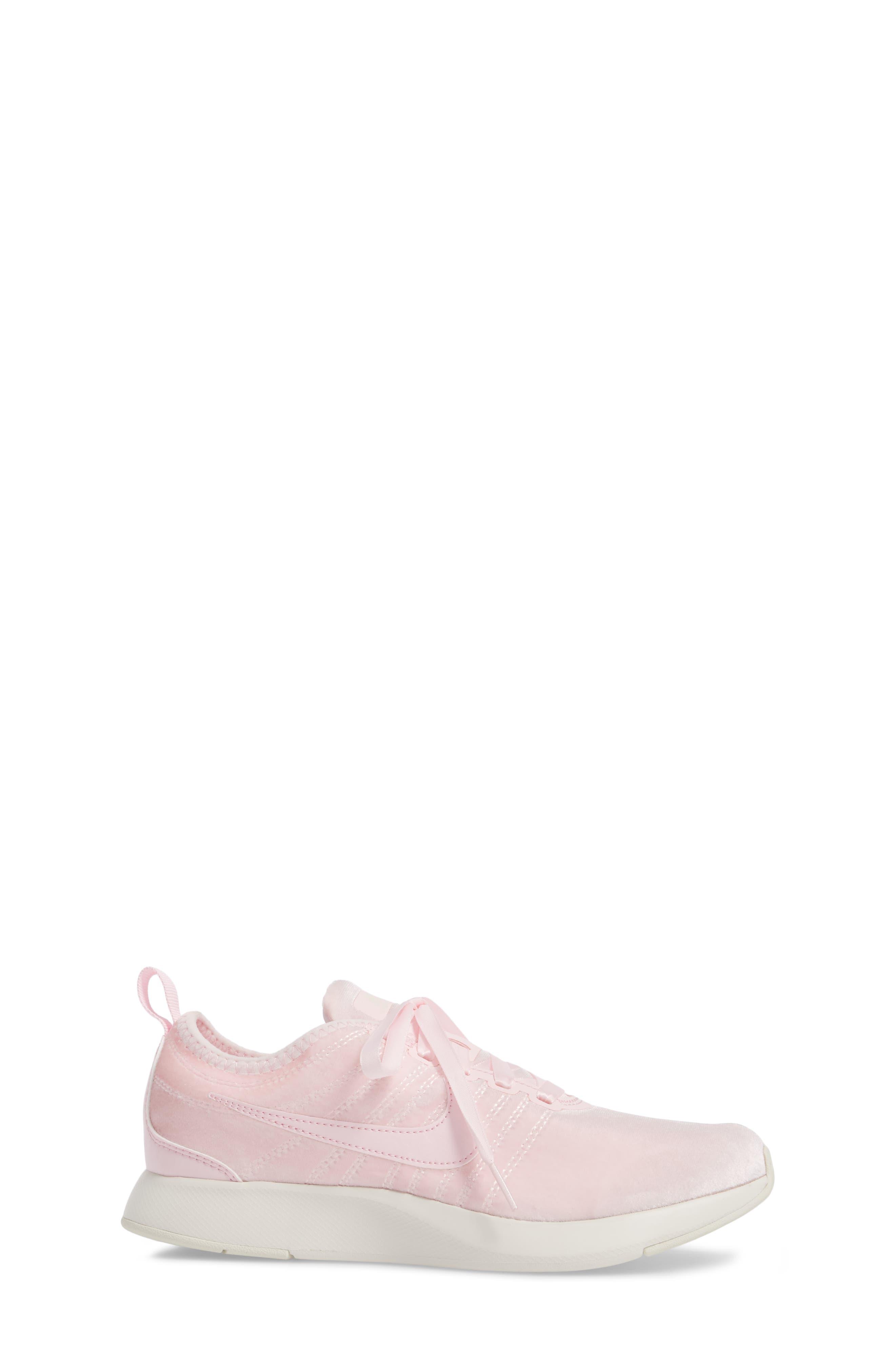 Dualtone Racer SE Sneaker,                             Alternate thumbnail 3, color,                             Arctic Pink/ Arctic Pink/ Sail