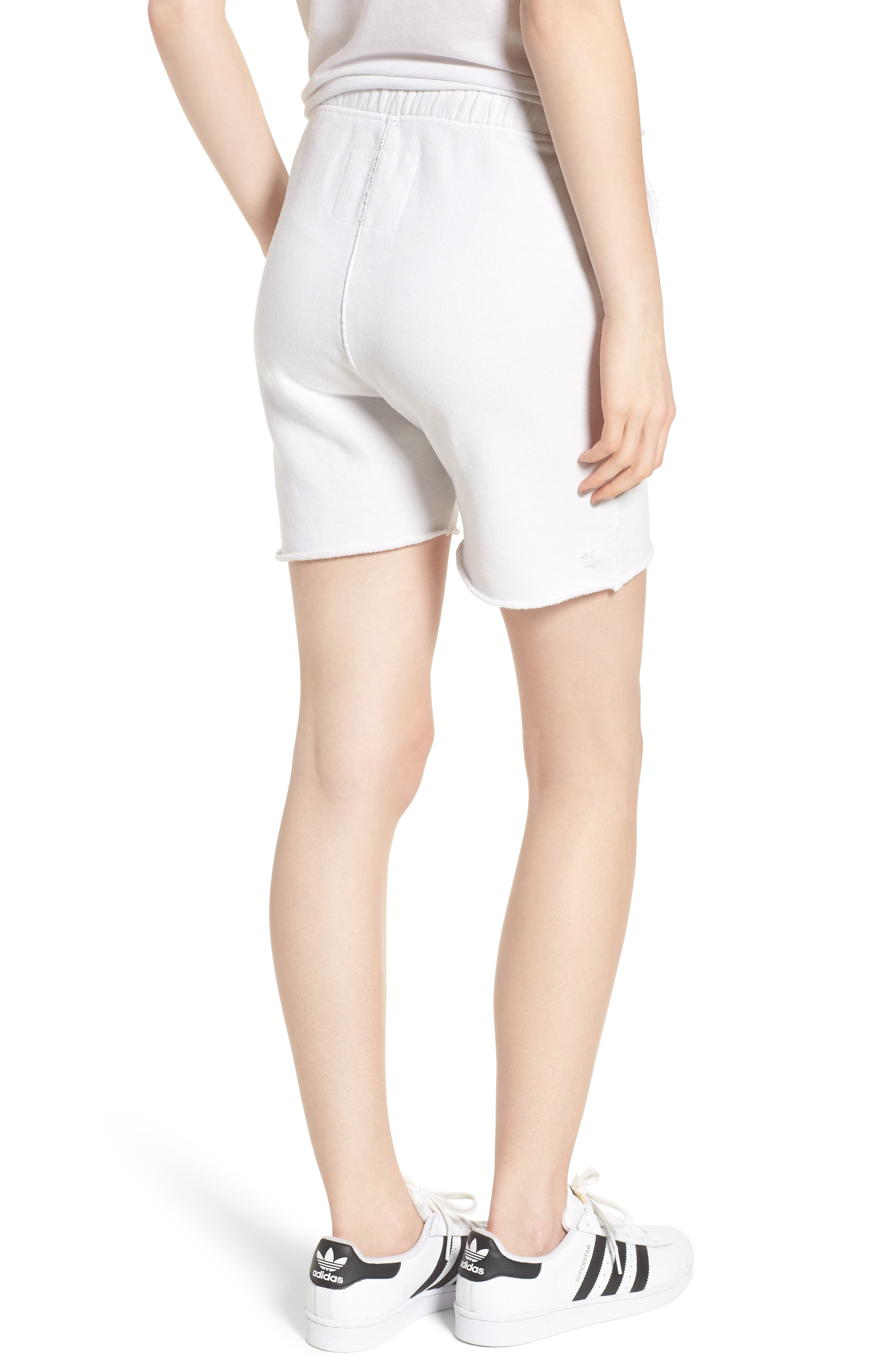 Fleece Shorts,                             Alternate thumbnail 2, color,                             Dirty White 10 Yr Vintage