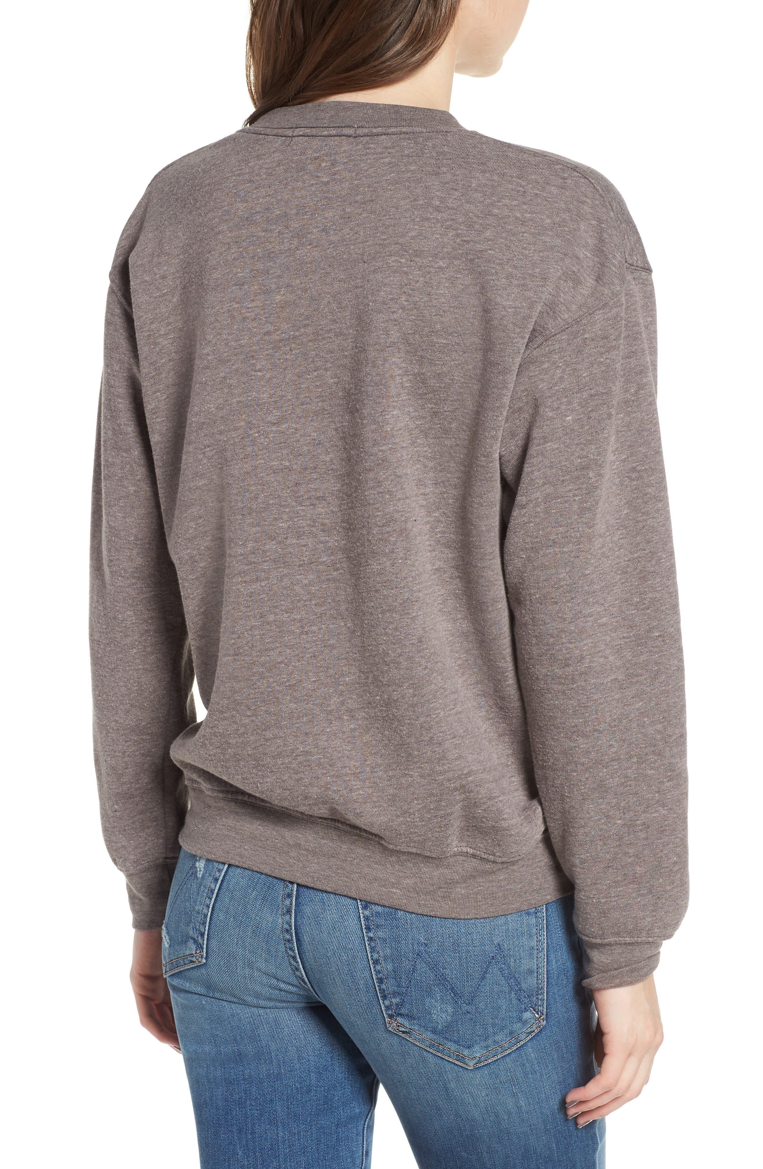 Golden Girls Willow Sweatshirt,                             Alternate thumbnail 2, color,                             Heather Grey