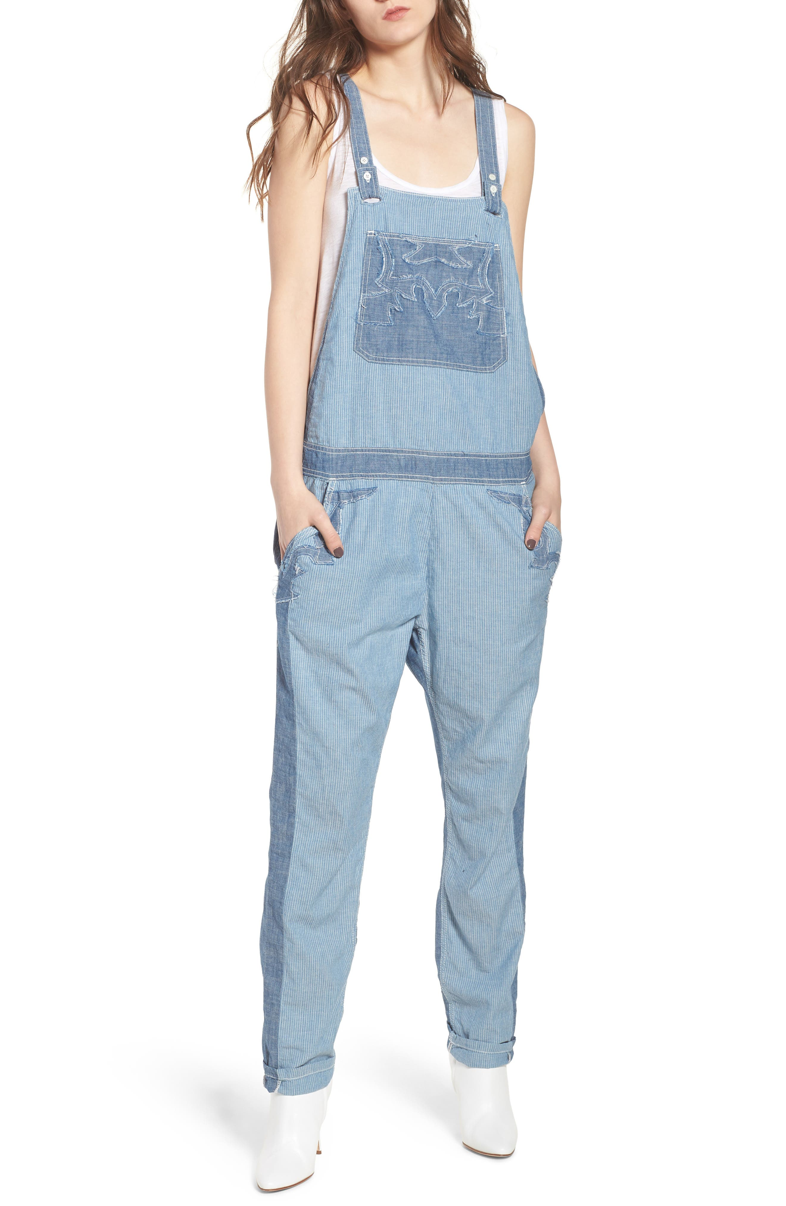 Zadig & Voltaire Sidney Patch Overalls