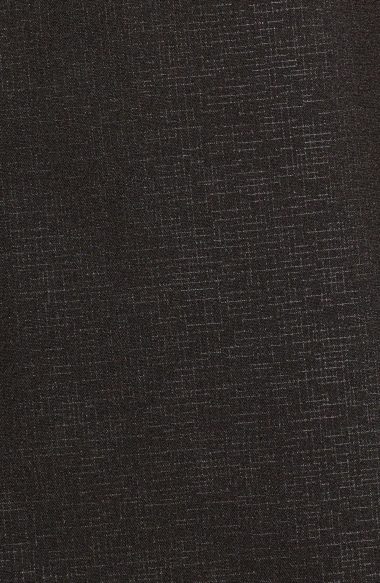 Soft Shell Raincoat,                             Alternate thumbnail 6, color,                             Black