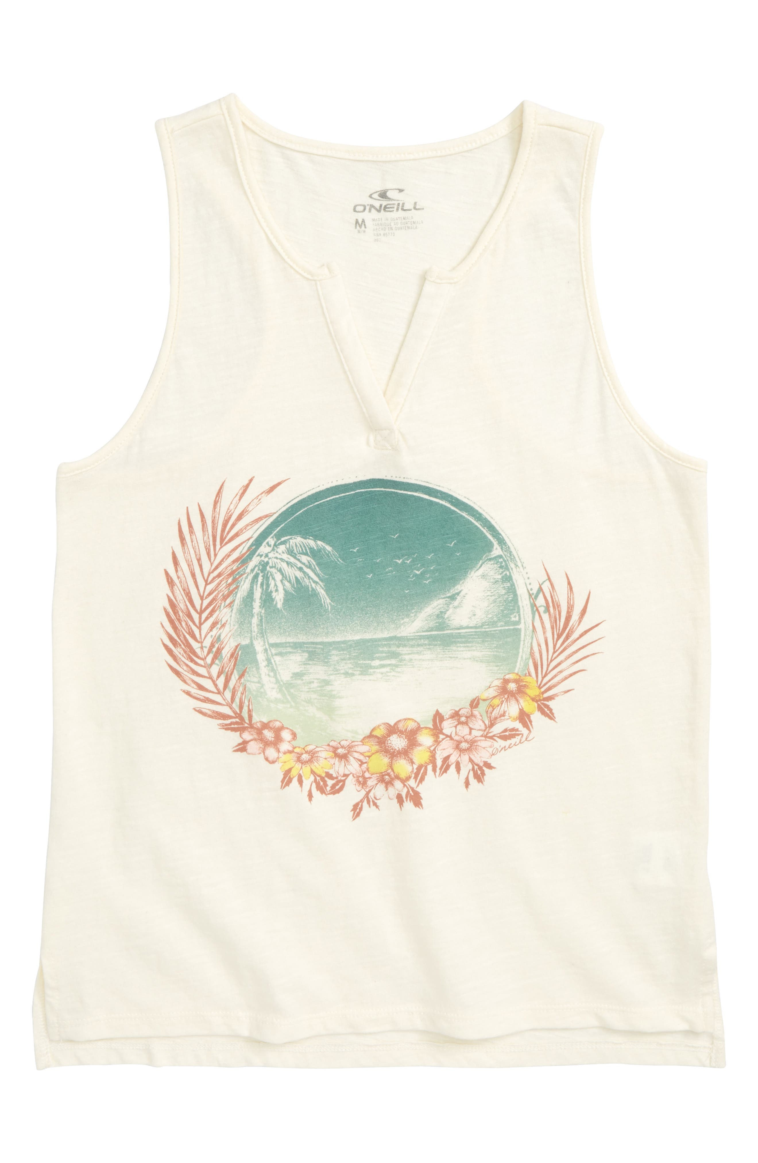 Sweet Summertime Graphic Tank,                             Main thumbnail 1, color,                             Naked