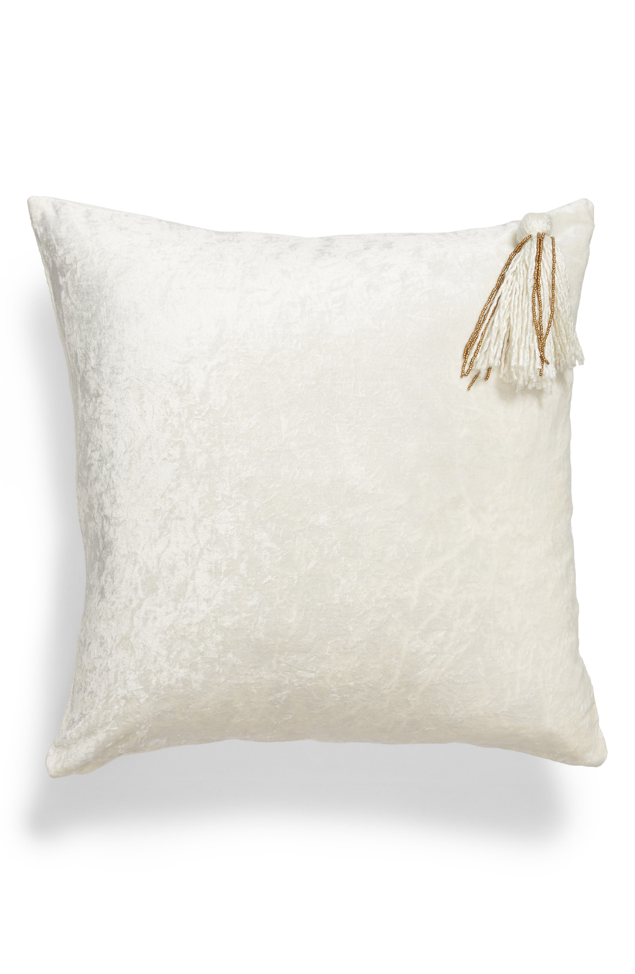 Nordstrom at Home Tassel Accent Pillow