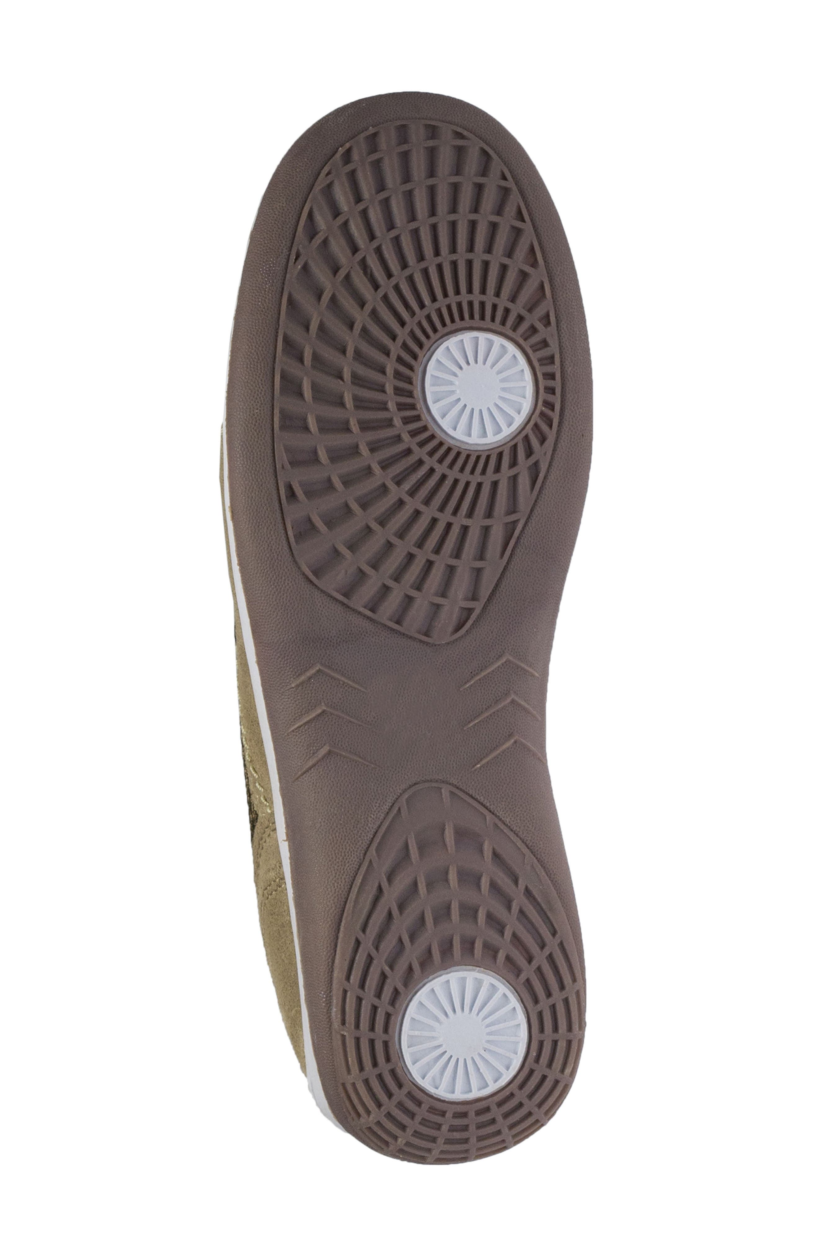 Racer Slip-On Sneaker,                             Alternate thumbnail 6, color,                             Taupe Suede