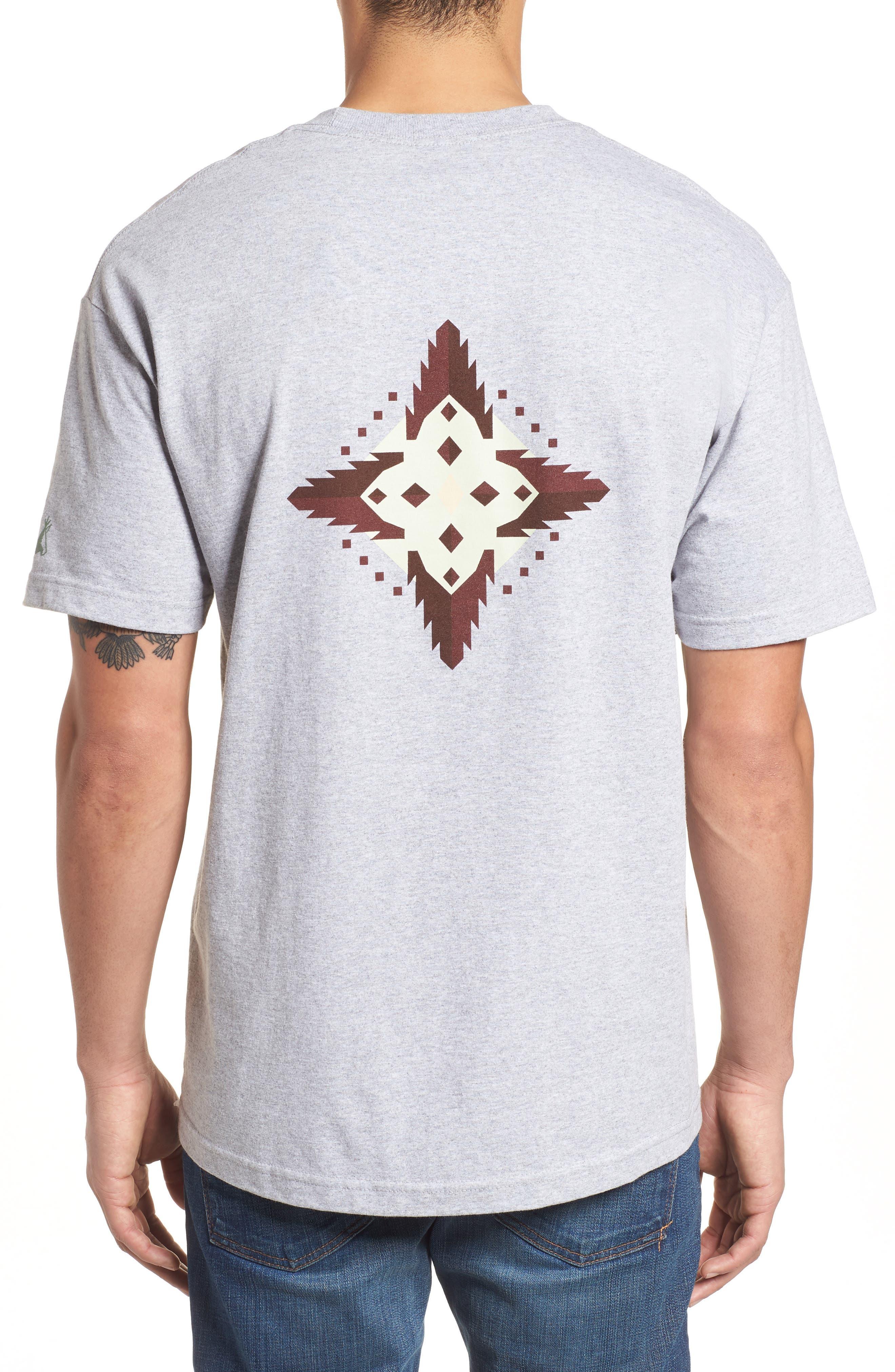 Crewneck T-Shirt,                             Alternate thumbnail 2, color,                             Gray Mesquite Canyon