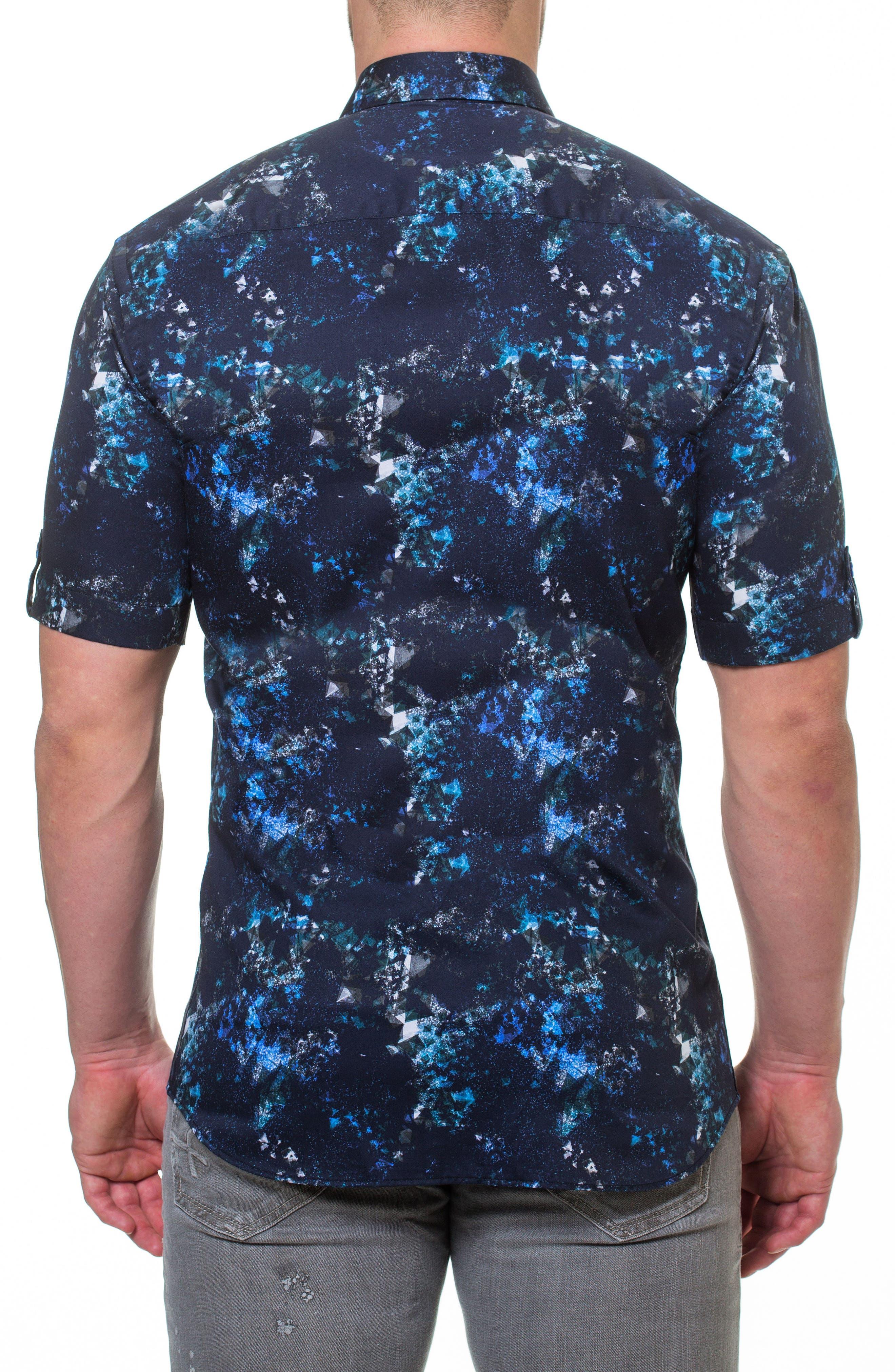 Fresh Pi Sport Shirt,                             Alternate thumbnail 2, color,                             Blue