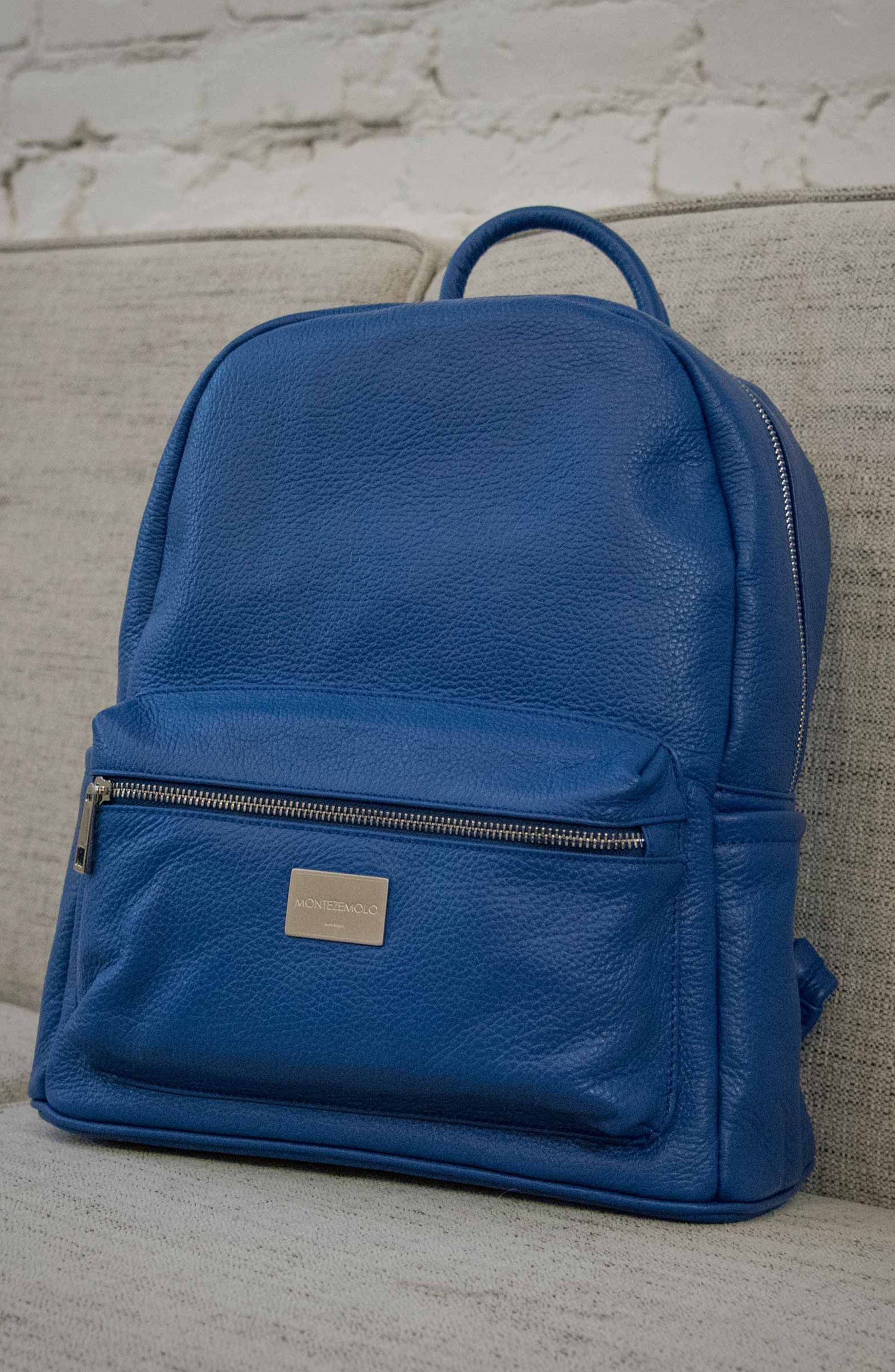 Alternate Image 6  - MONTEZEMOLO Leather Backpack