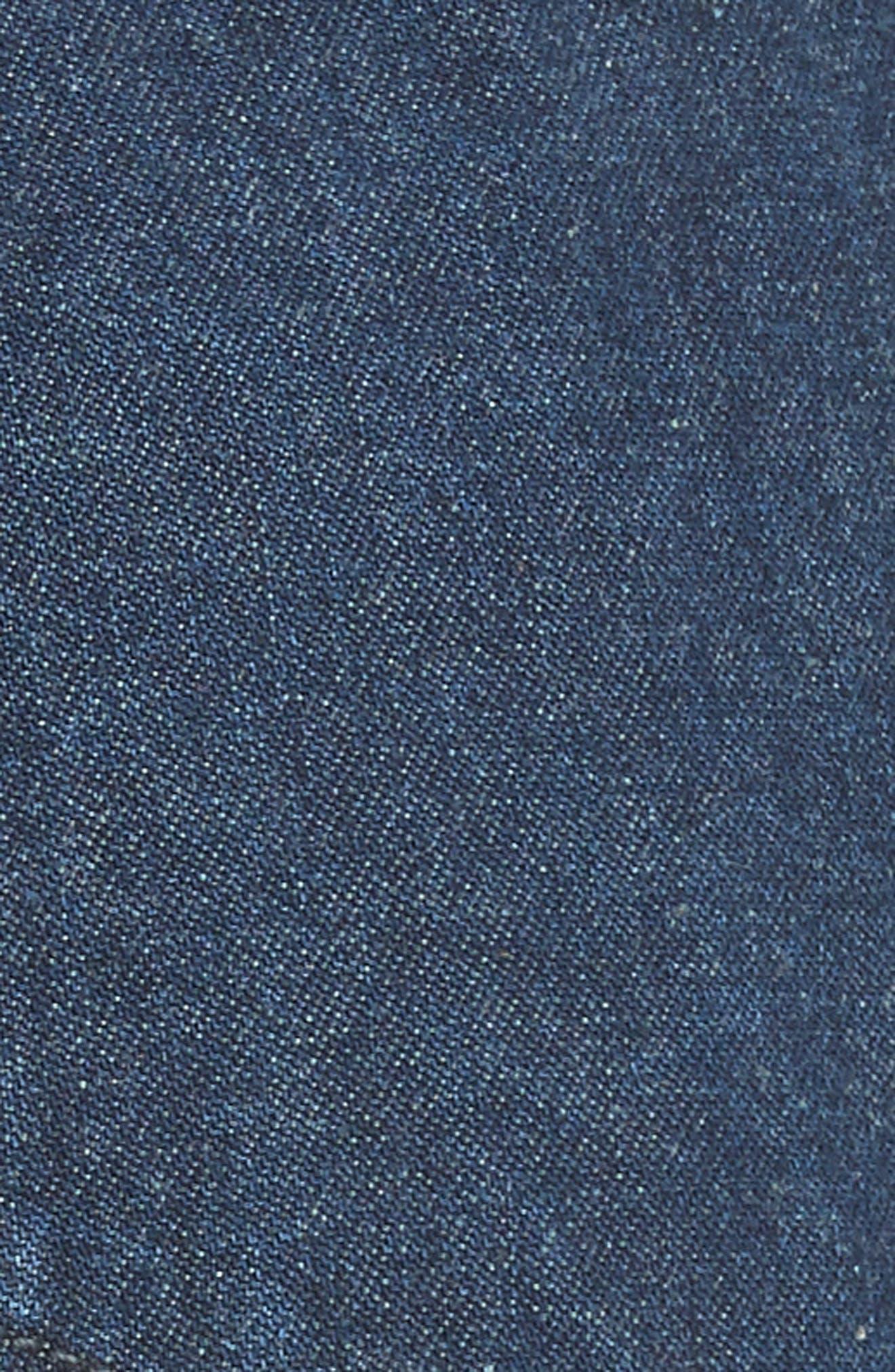 Sailor Denim Shorts,                             Alternate thumbnail 5, color,                             Ultra Marine Wash