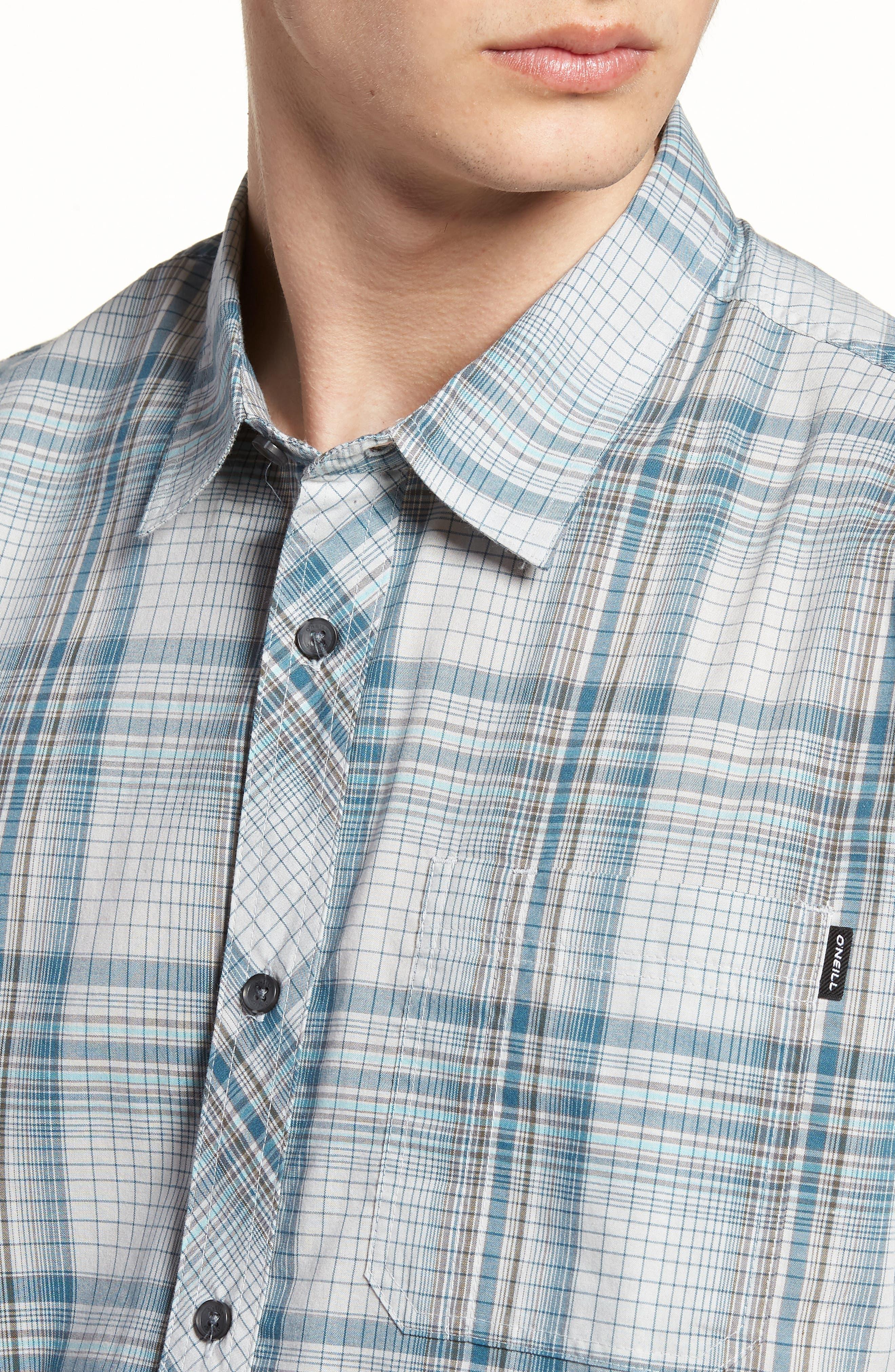 Gentry Short Sleeve Shirt,                             Alternate thumbnail 2, color,                             White