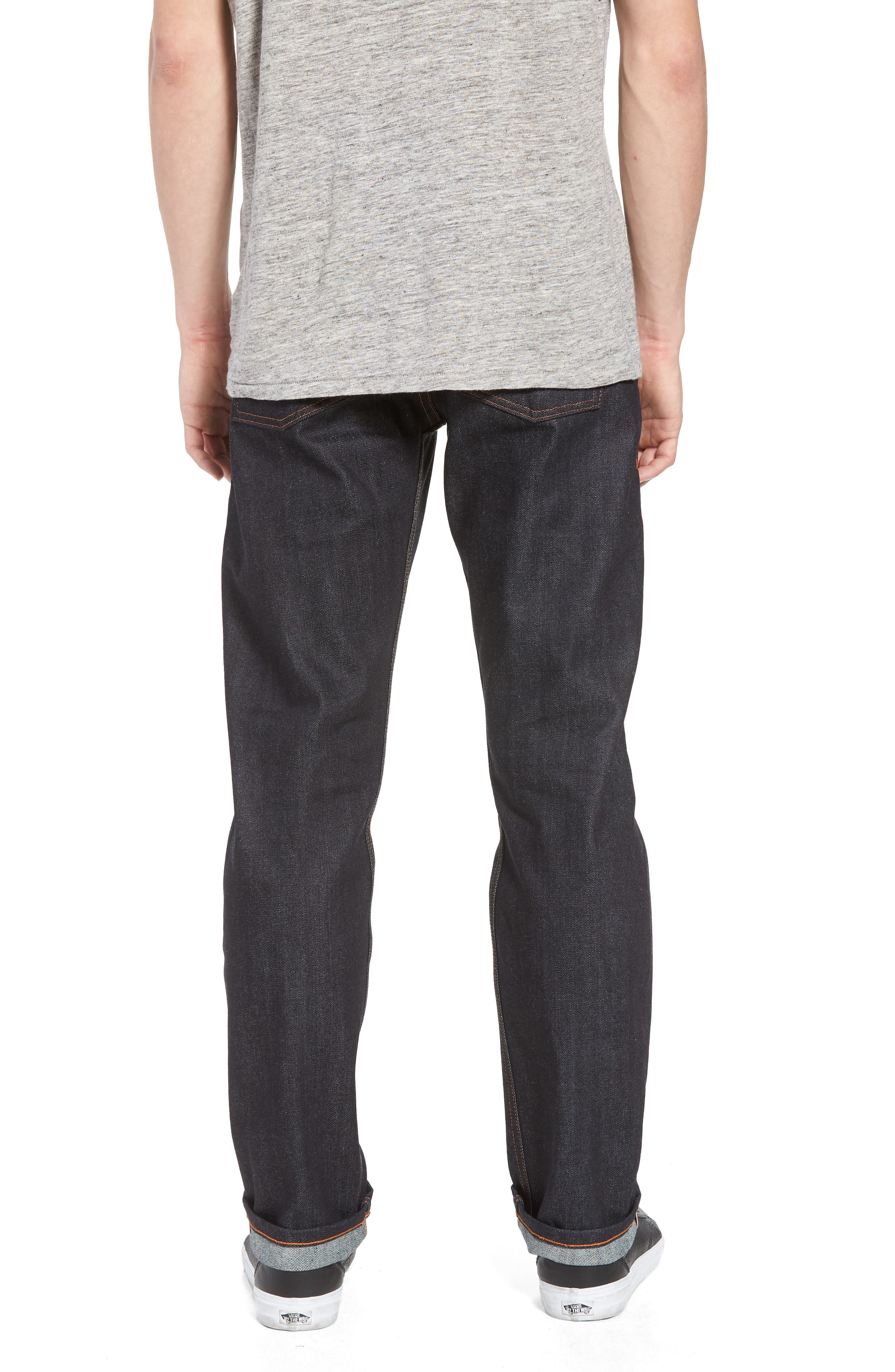 Naked & Famous Weird Guy Slim Fit Jeans,                             Alternate thumbnail 2, color,                             Indigo