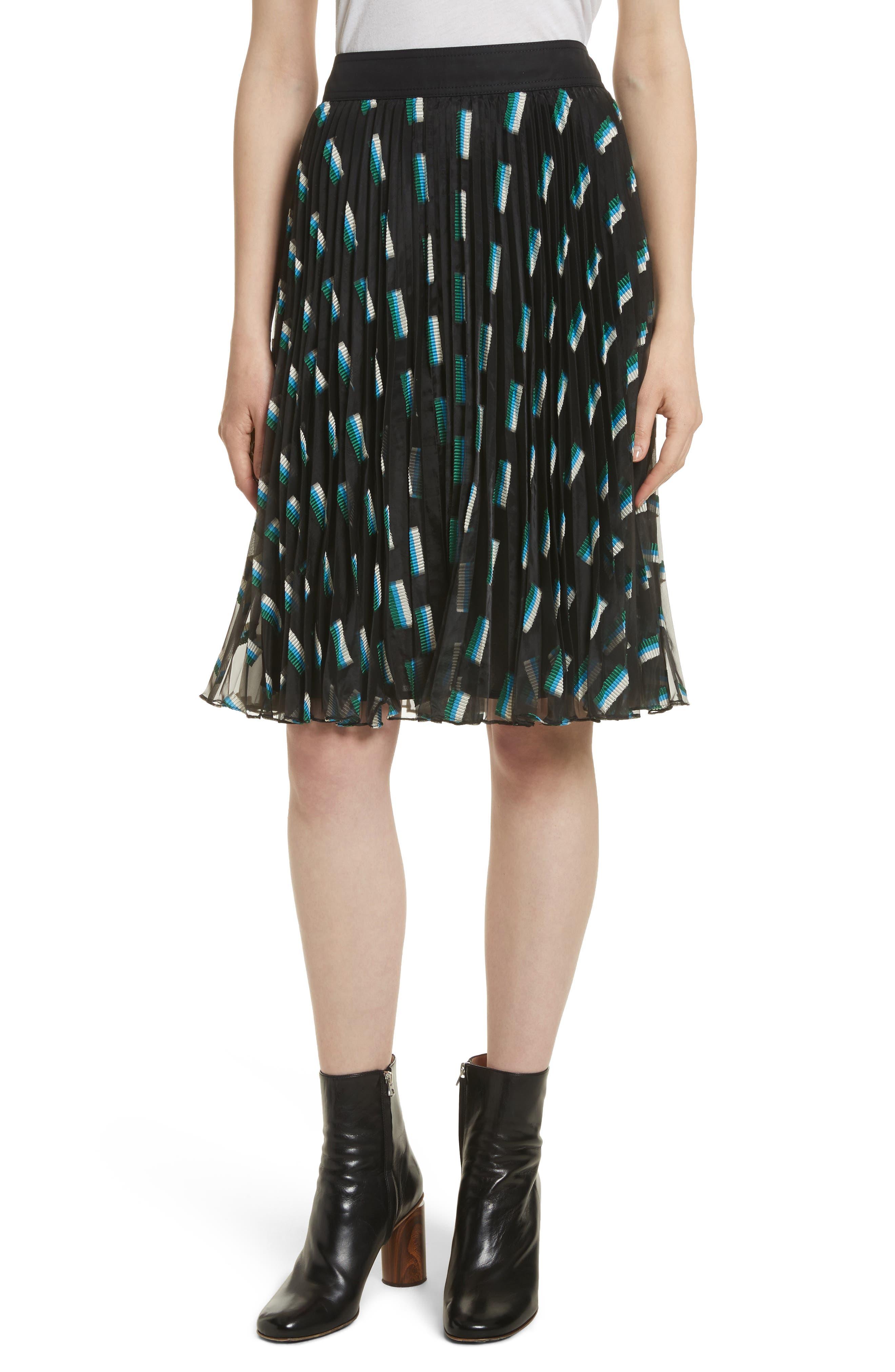GREY Jason Wu Fil Coupé A-Line Skirt